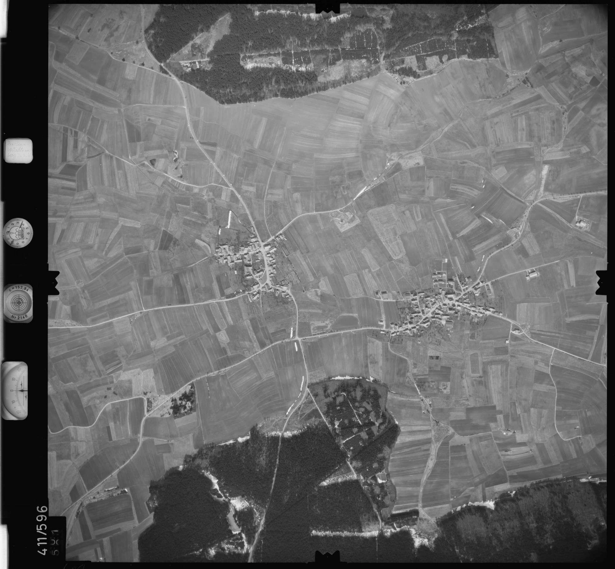 Luftbild: Film 7 Bildnr. 601, Bild 1