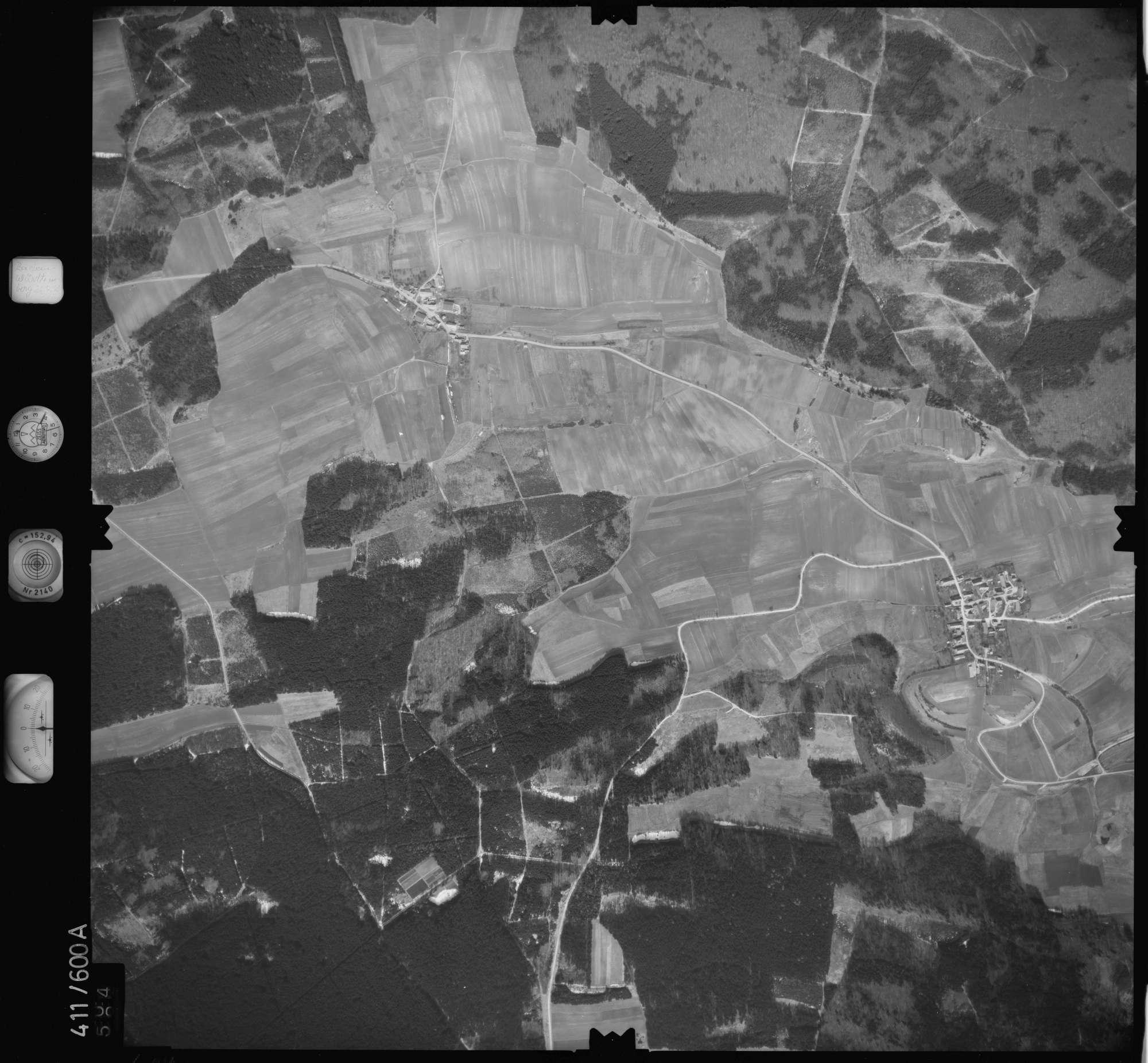 Luftbild: Film 7 Bildnr. 604, Bild 1