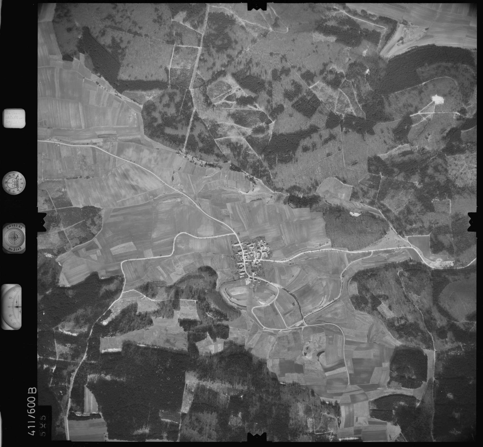 Luftbild: Film 7 Bildnr. 605, Bild 1