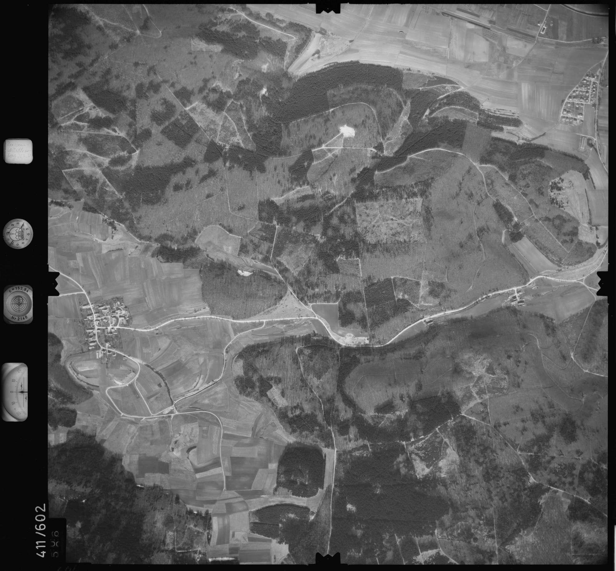 Luftbild: Film 7 Bildnr. 606, Bild 1