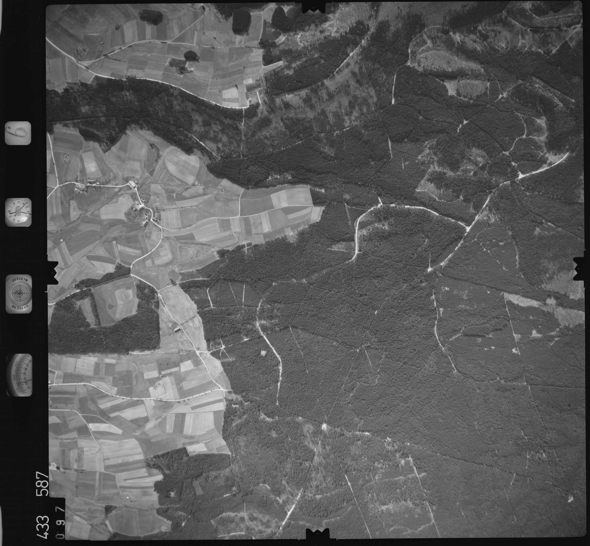 Luftbild: Film 6 Bildnr. 97, Bild 1
