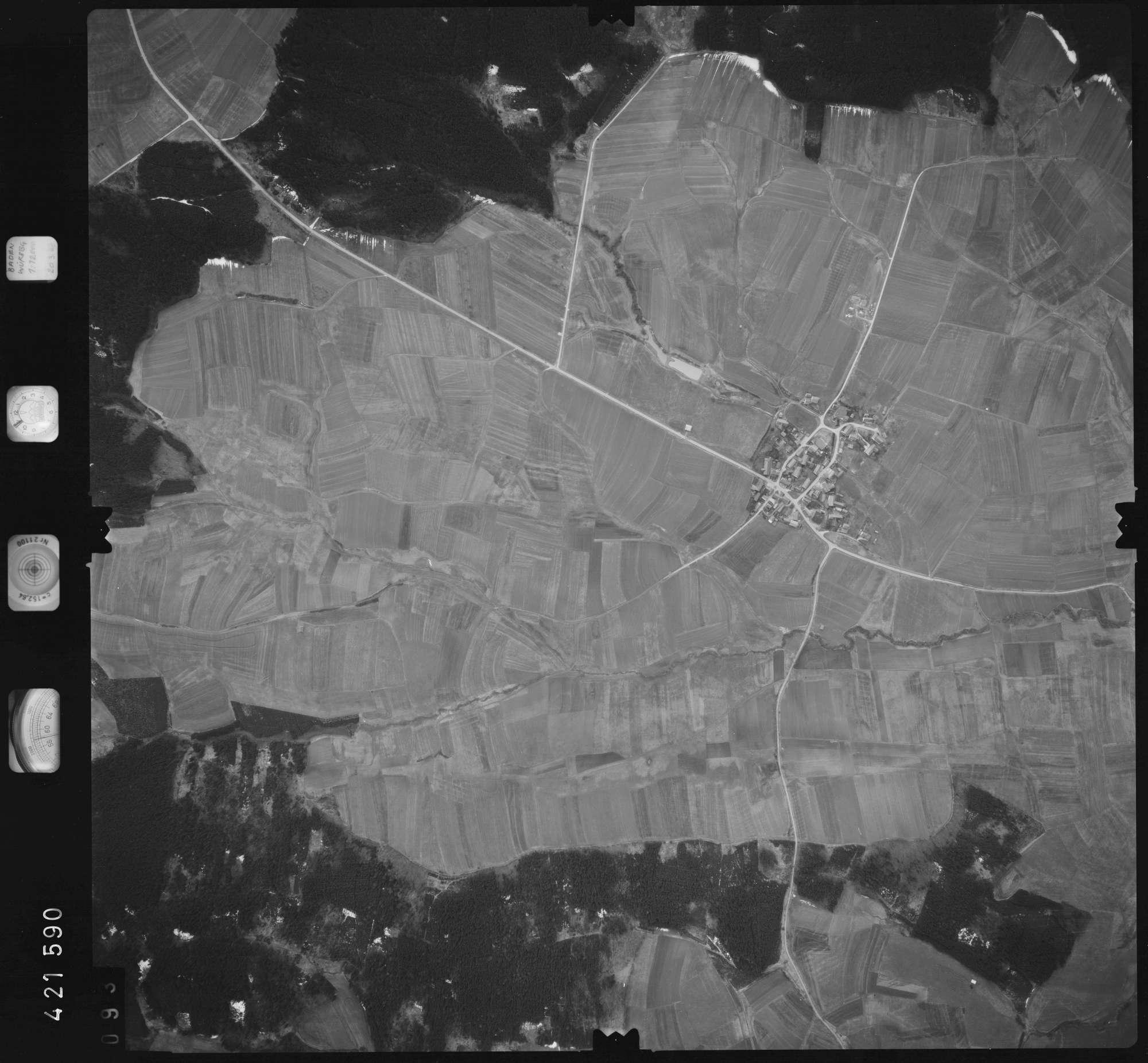 Luftbild: Film 1 Bildnr. 93, Bild 1
