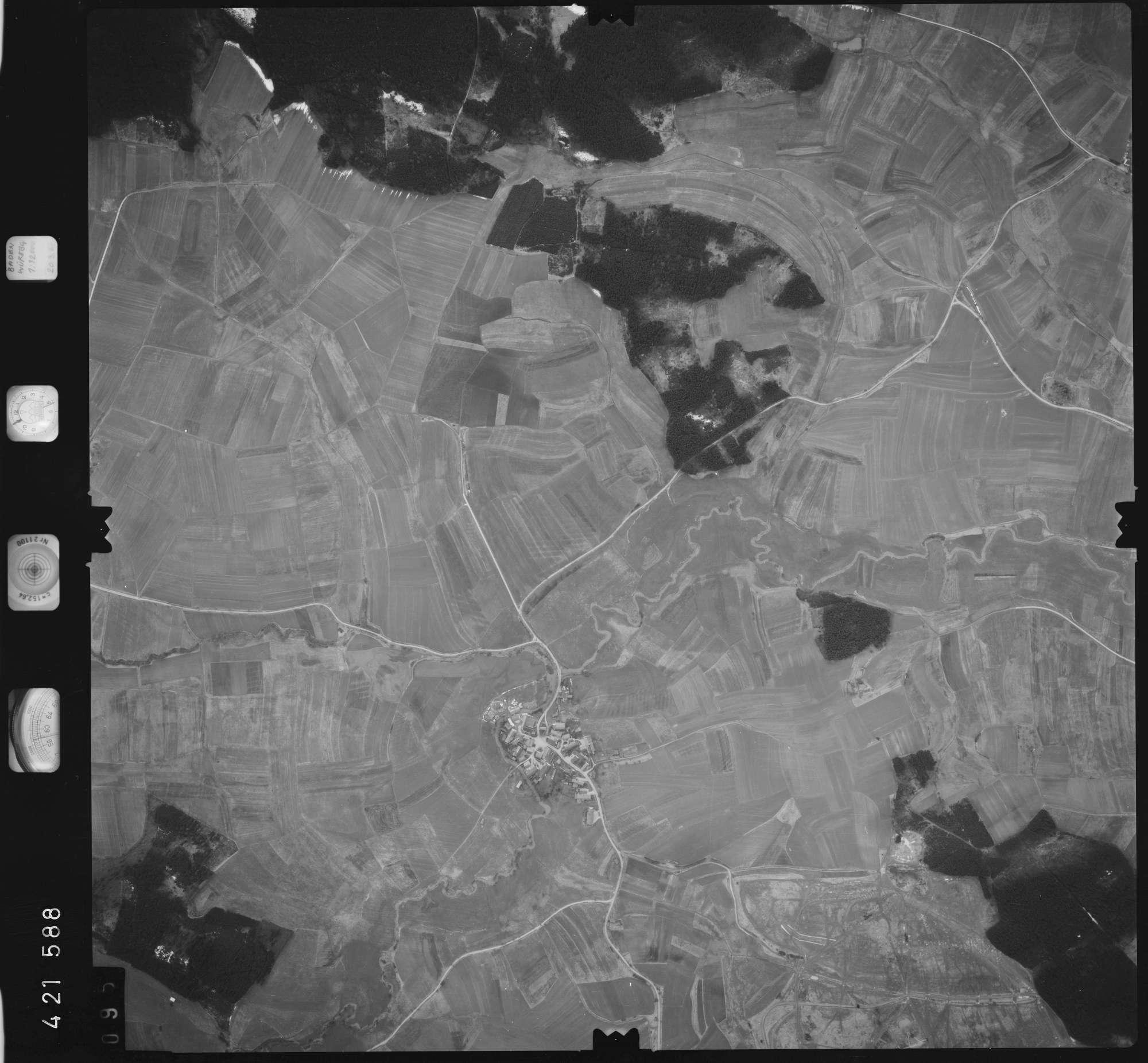 Luftbild: Film 1 Bildnr. 95, Bild 1