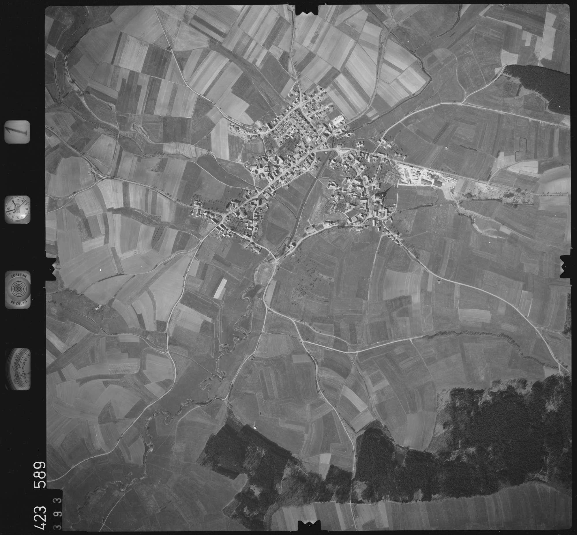 Luftbild: Film 1 Bildnr. 393, Bild 1