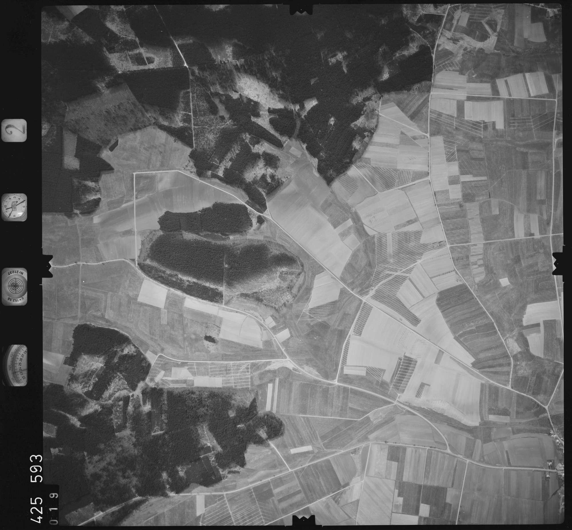Luftbild: Film 2 Bildnr. 19, Bild 1