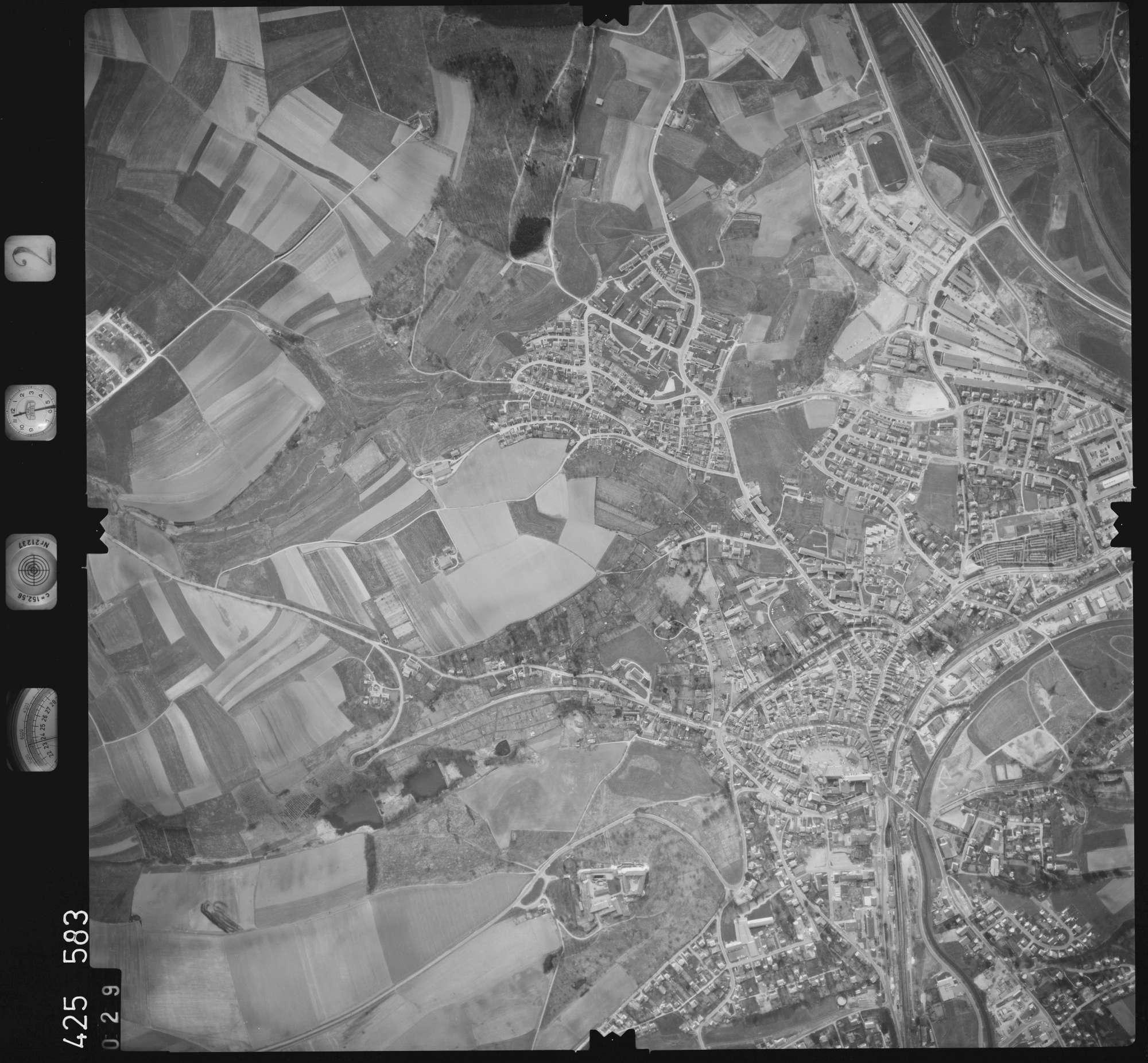 Luftbild: Film 2 Bildnr. 29, Bild 1