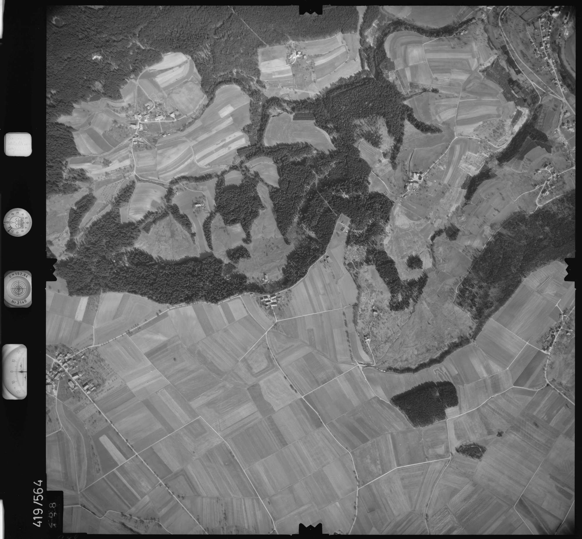 Luftbild: Film 6 Bildnr. 288, Bild 1