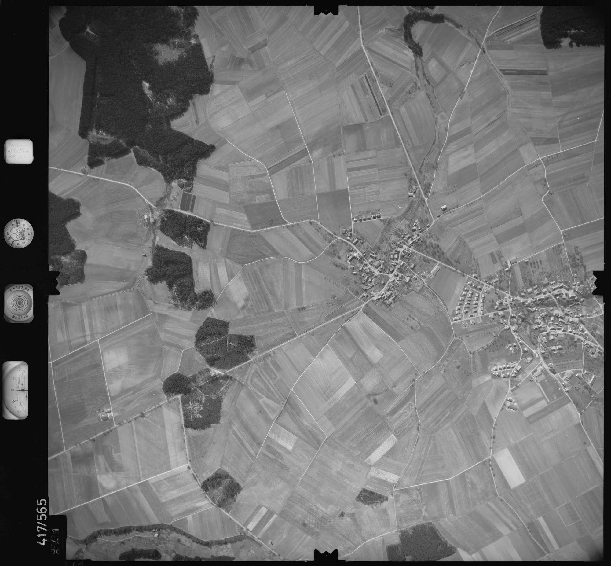Luftbild: Film 6 Bildnr. 371, Bild 1