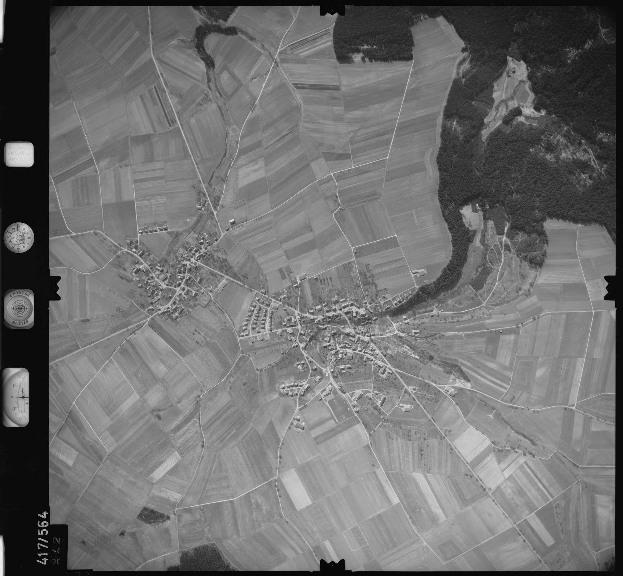 Luftbild: Film 6 Bildnr. 372, Bild 1