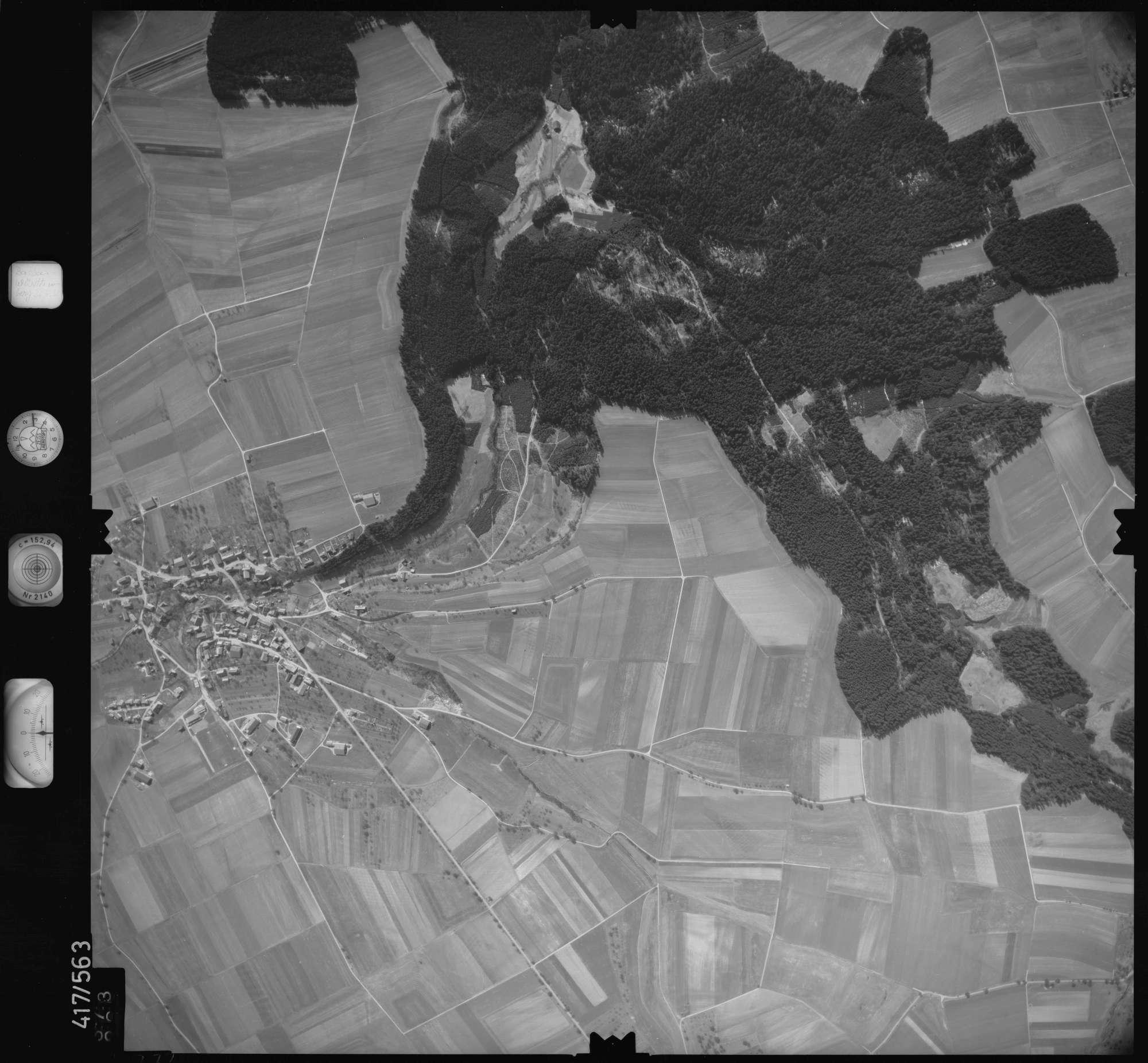 Luftbild: Film 6 Bildnr. 373, Bild 1