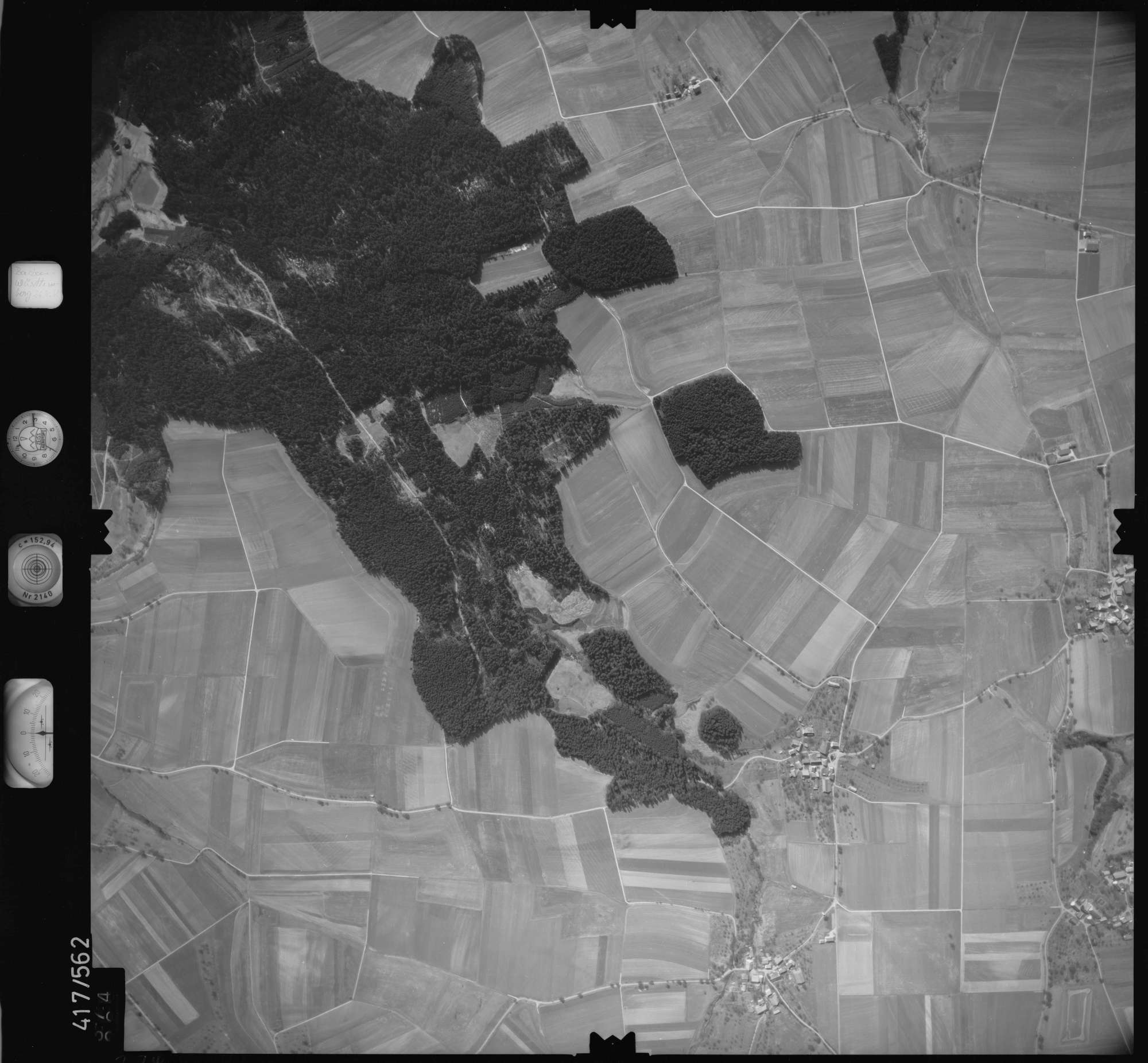 Luftbild: Film 6 Bildnr. 374, Bild 1