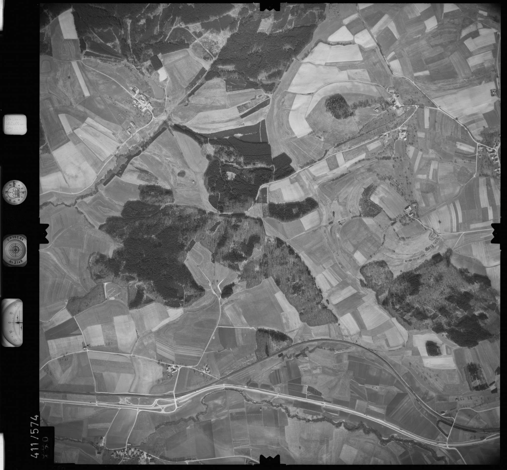 Luftbild: Film 7 Bildnr. 580, Bild 1