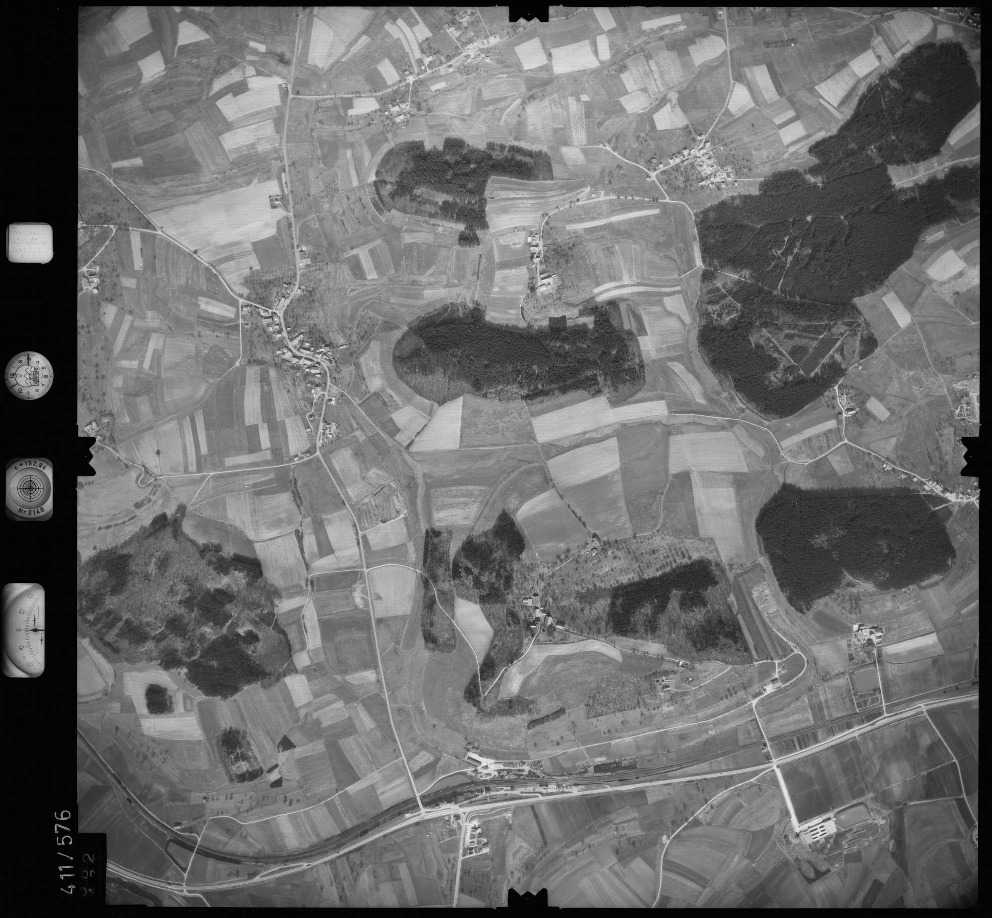 Luftbild: Film 7 Bildnr. 582, Bild 1
