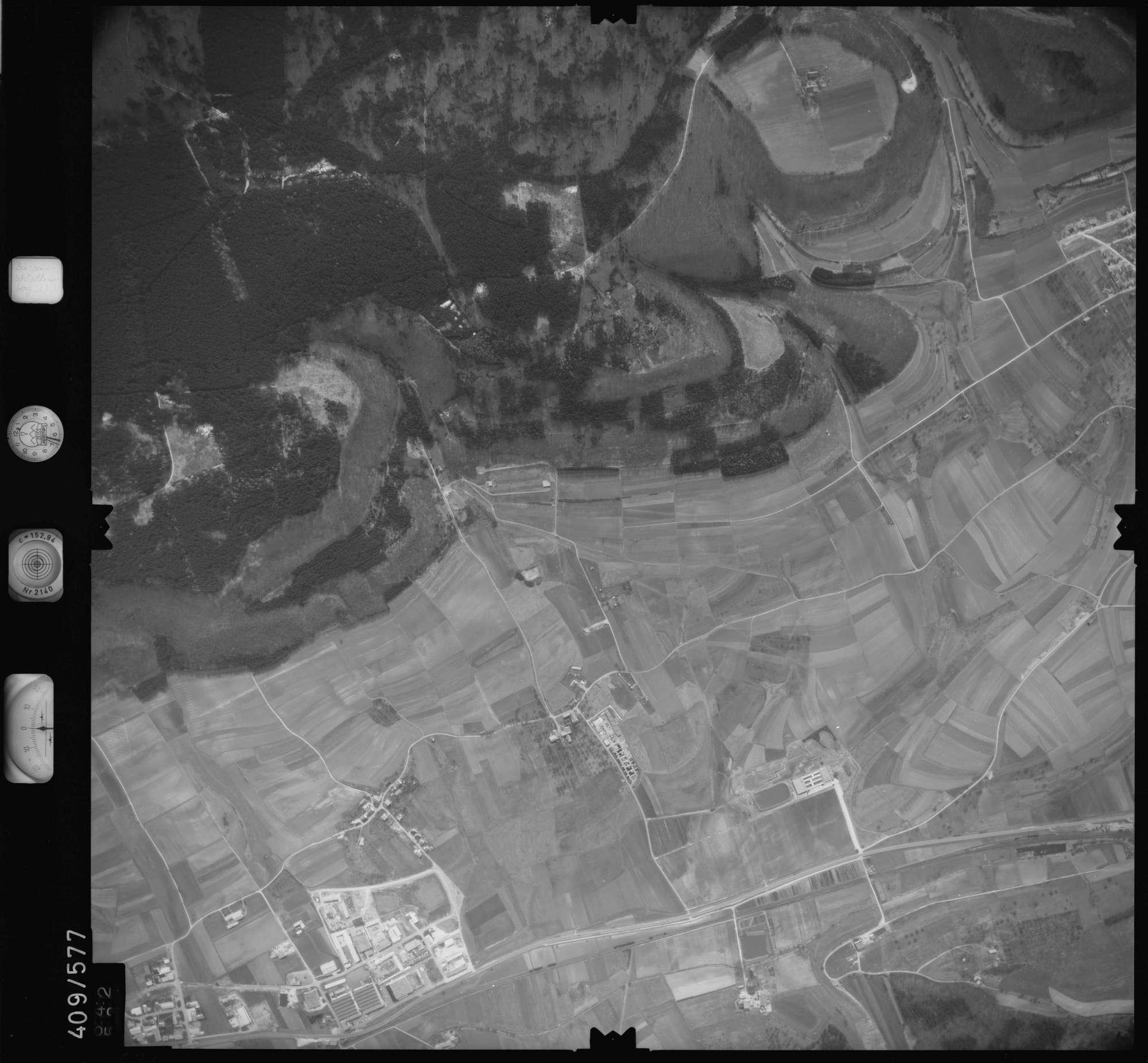 Luftbild: Film 7 Bildnr. 642, Bild 1