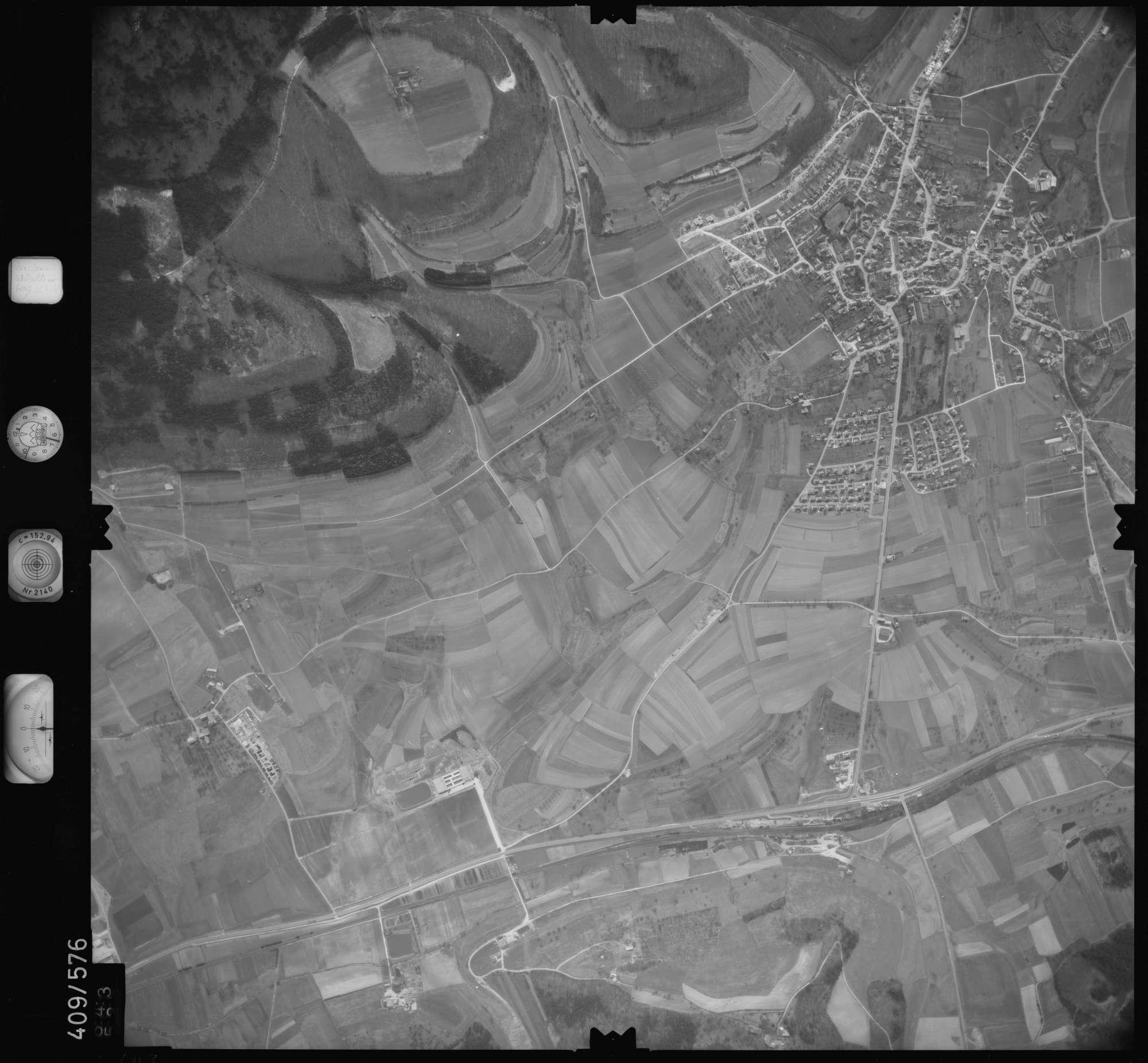 Luftbild: Film 7 Bildnr. 643, Bild 1
