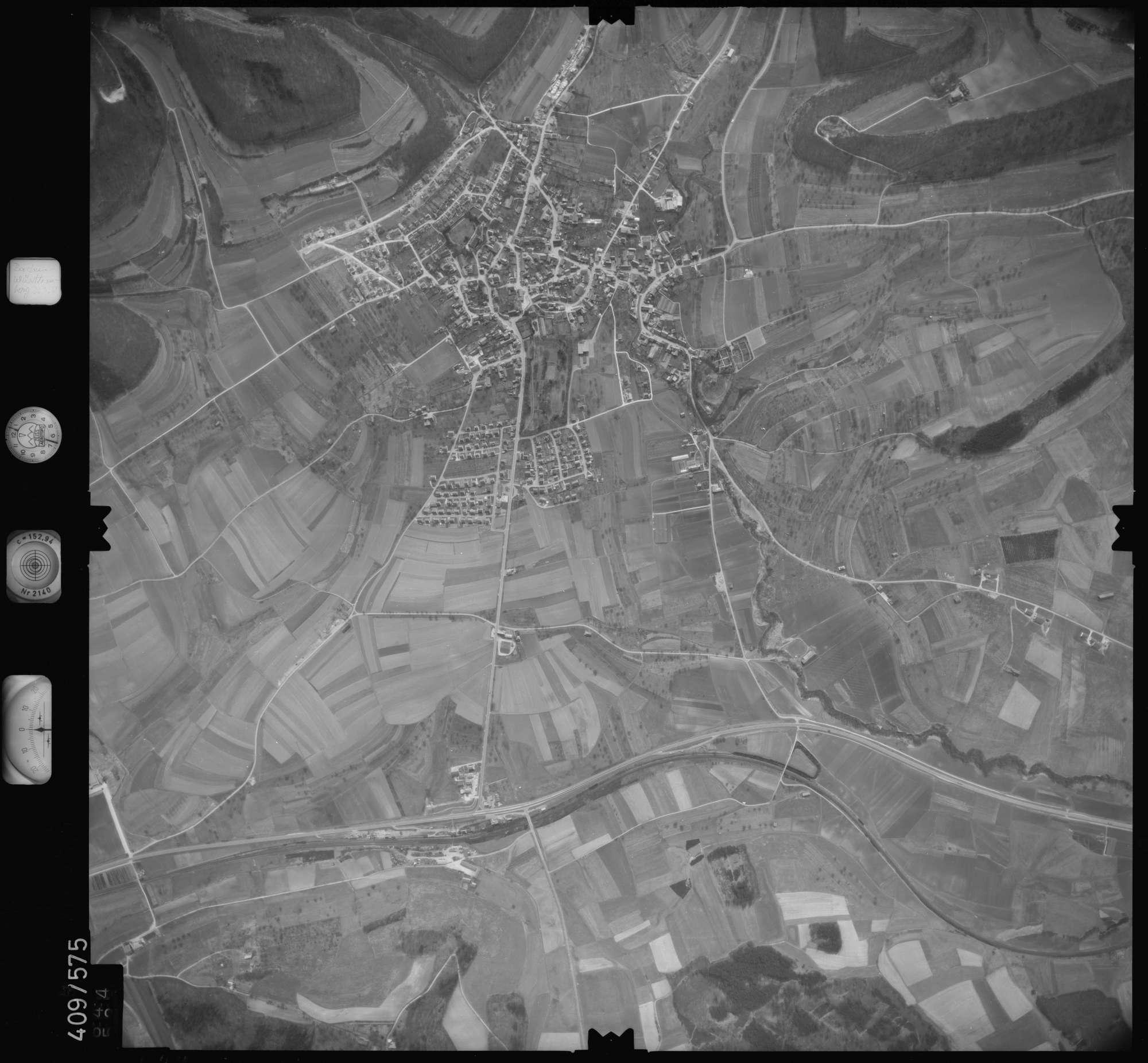 Luftbild: Film 7 Bildnr. 644, Bild 1