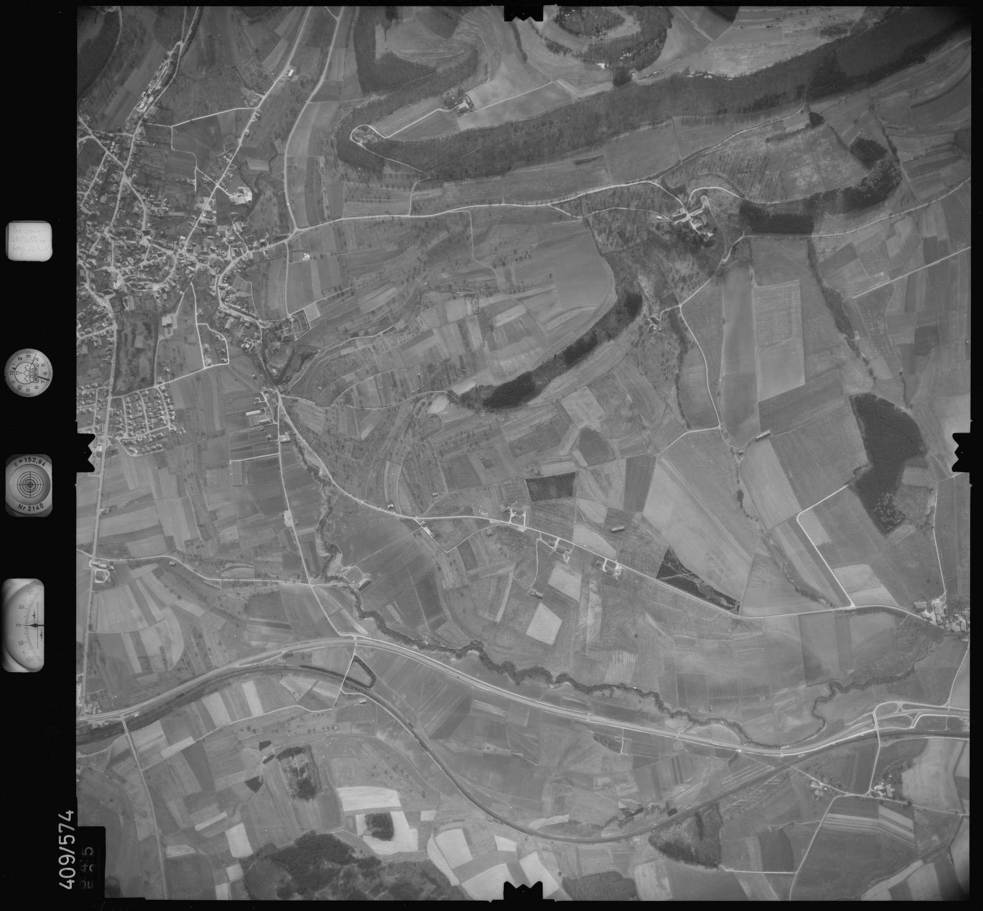 Luftbild: Film 7 Bildnr. 645, Bild 1