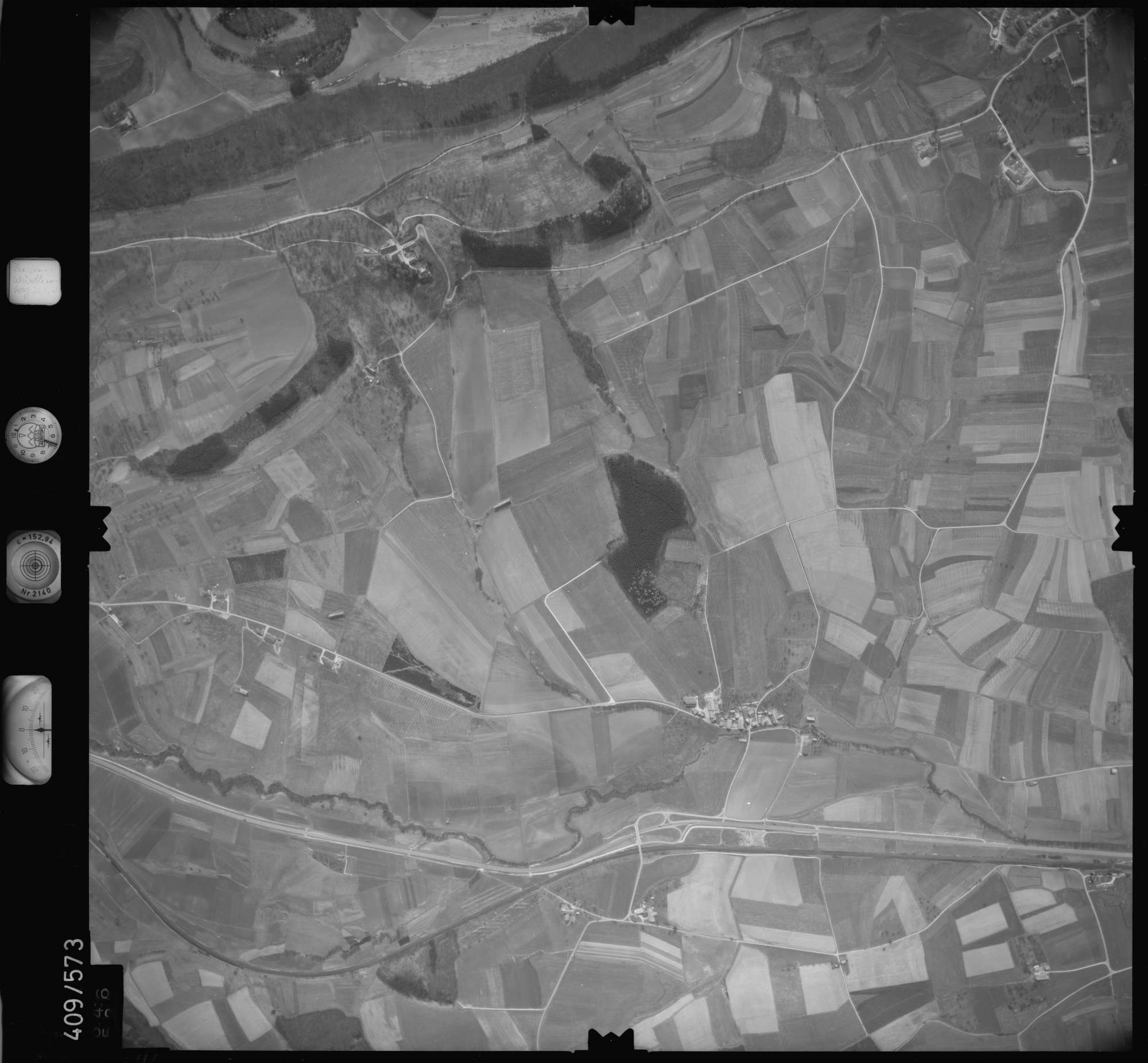 Luftbild: Film 7 Bildnr. 646, Bild 1