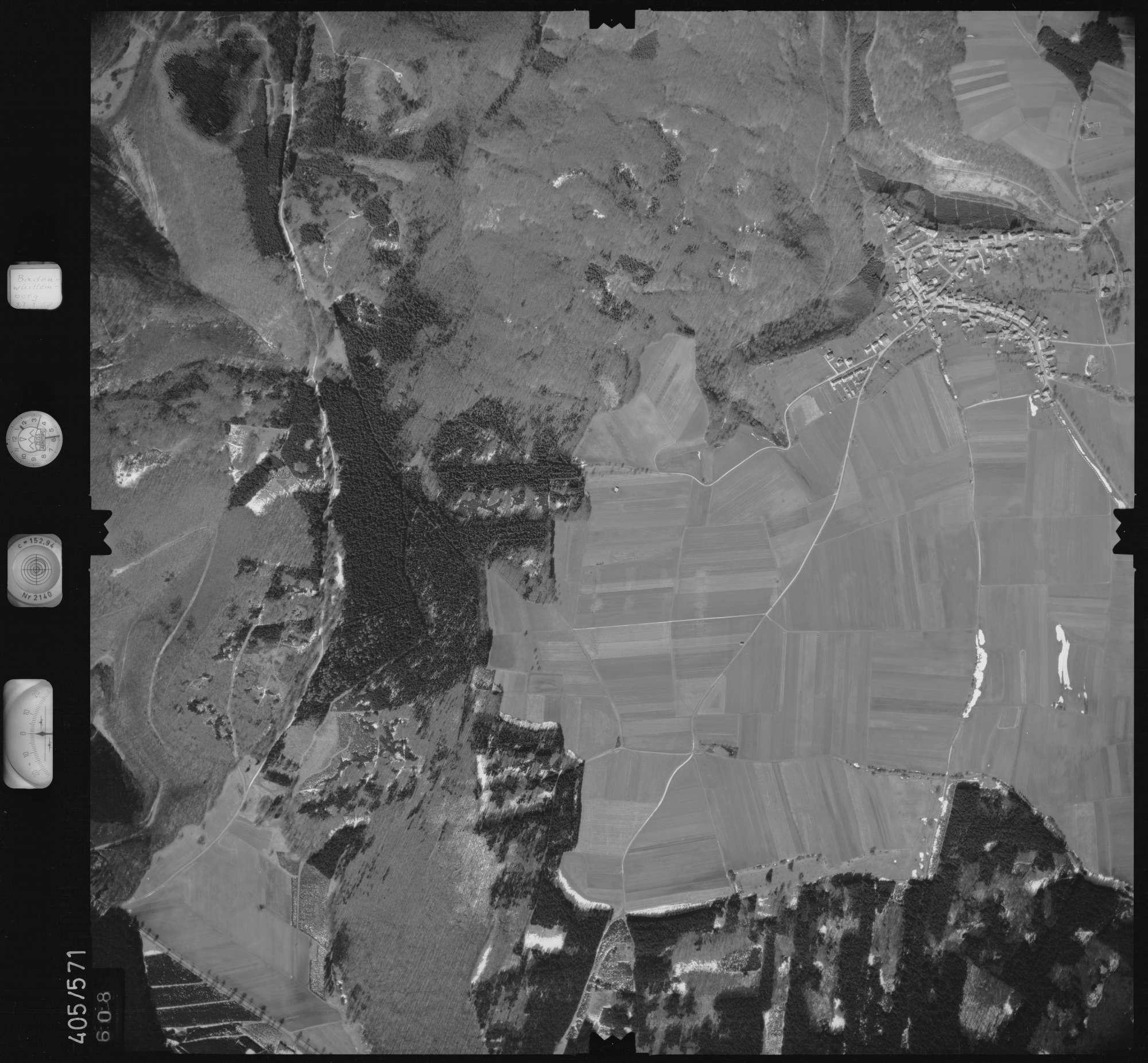 Luftbild: Film 10 Bildnr. 608, Bild 1