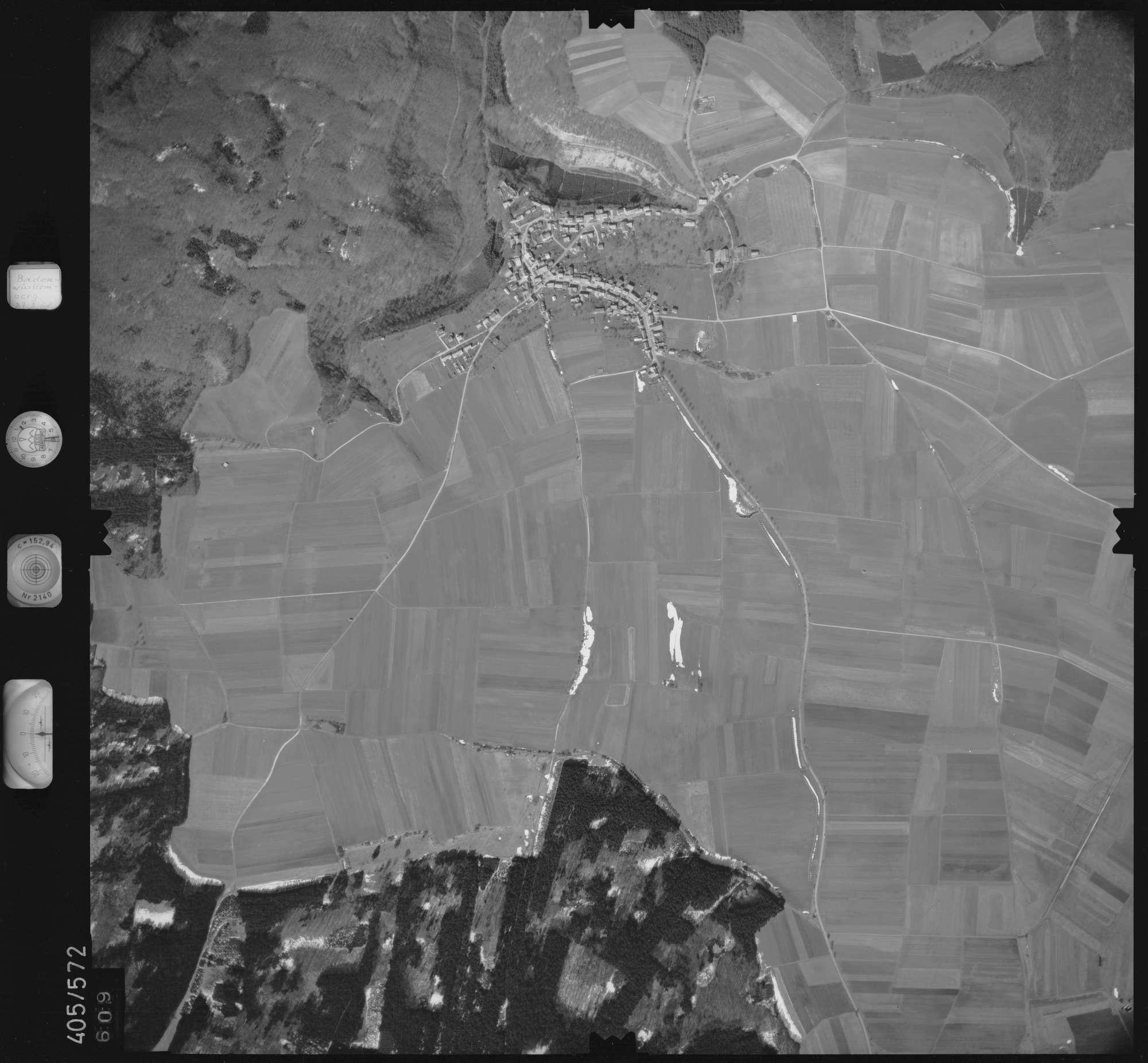 Luftbild: Film 10 Bildnr. 609, Bild 1
