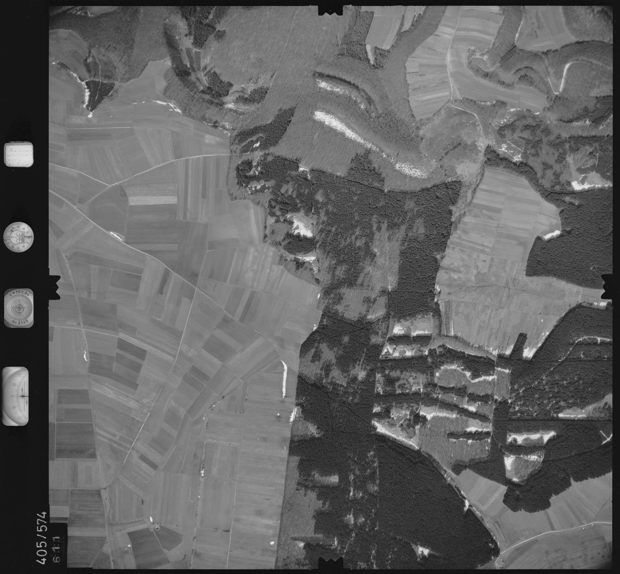 Luftbild: Film 10 Bildnr. 611, Bild 1