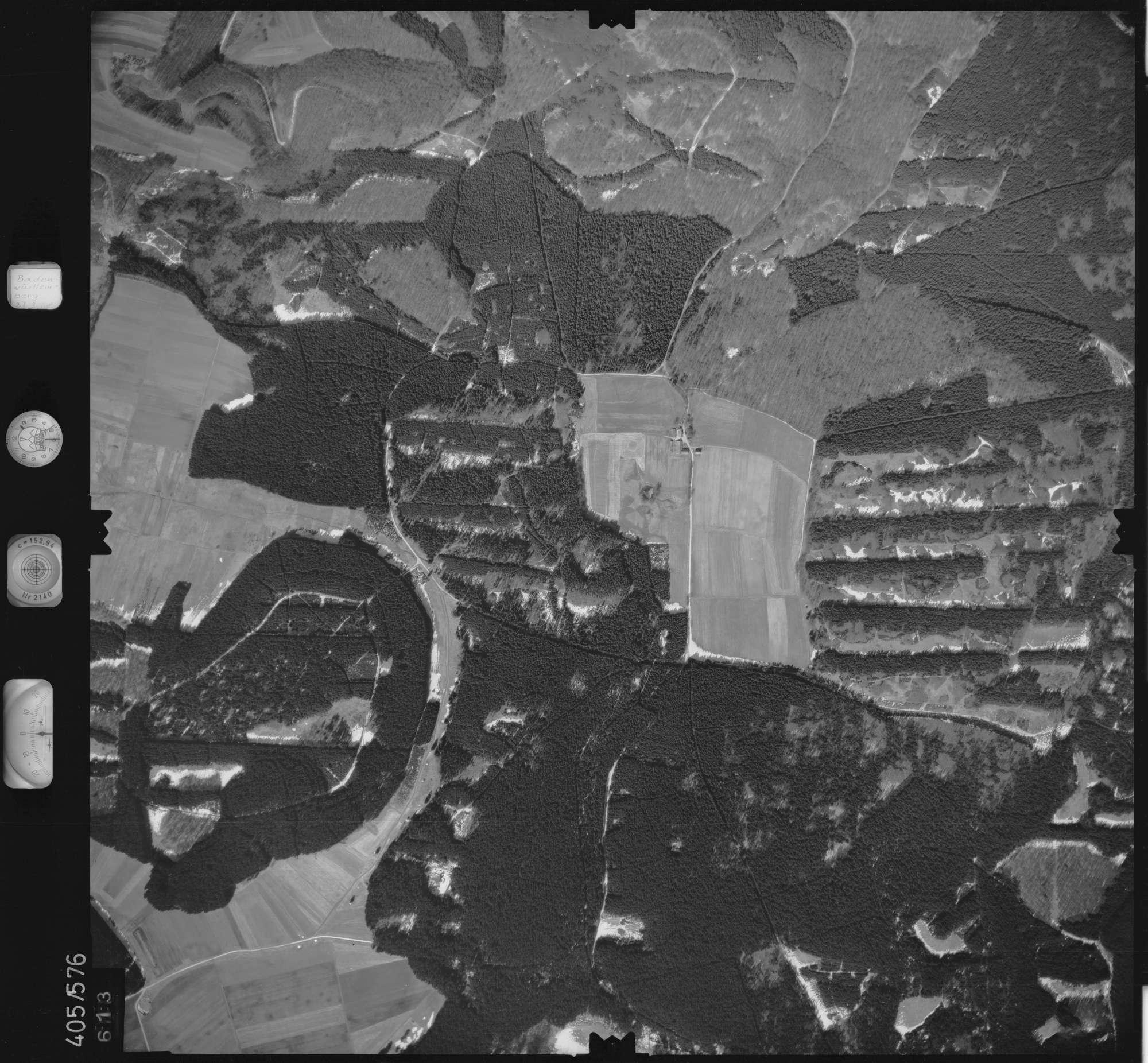 Luftbild: Film 10 Bildnr. 613, Bild 1