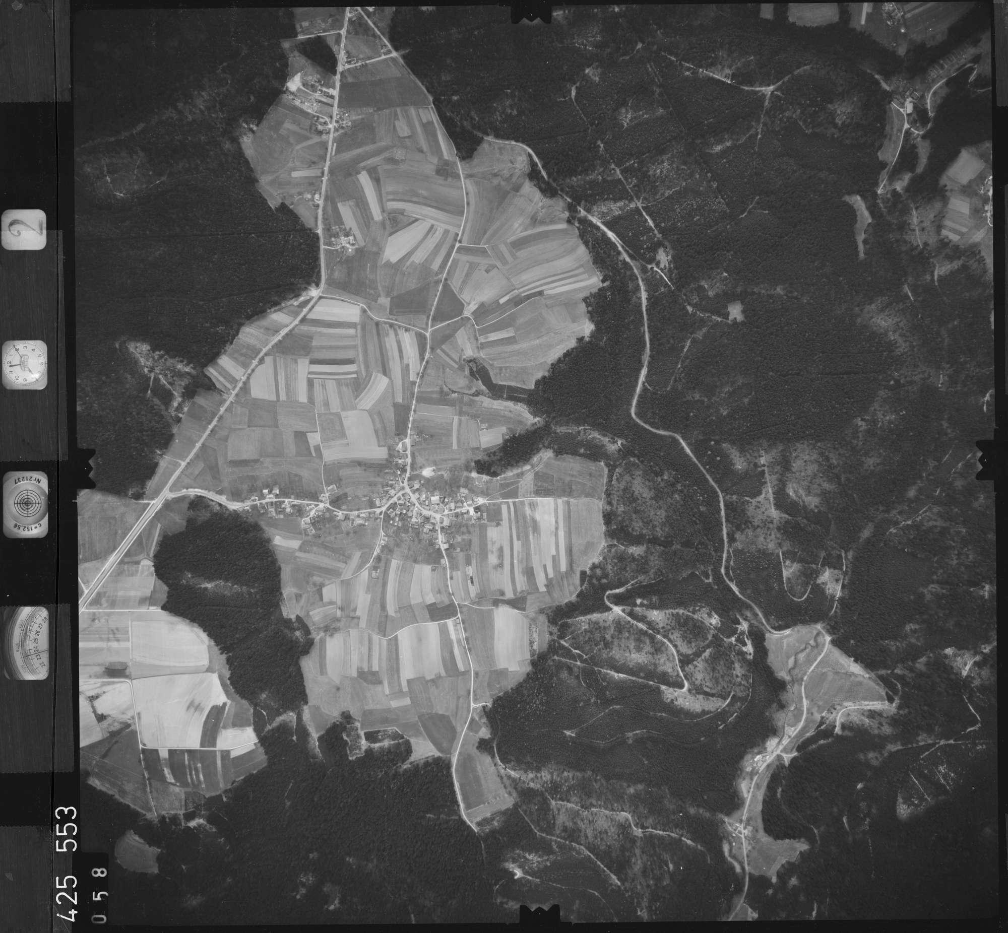 Luftbild: Film 2 Bildnr. 58, Bild 1
