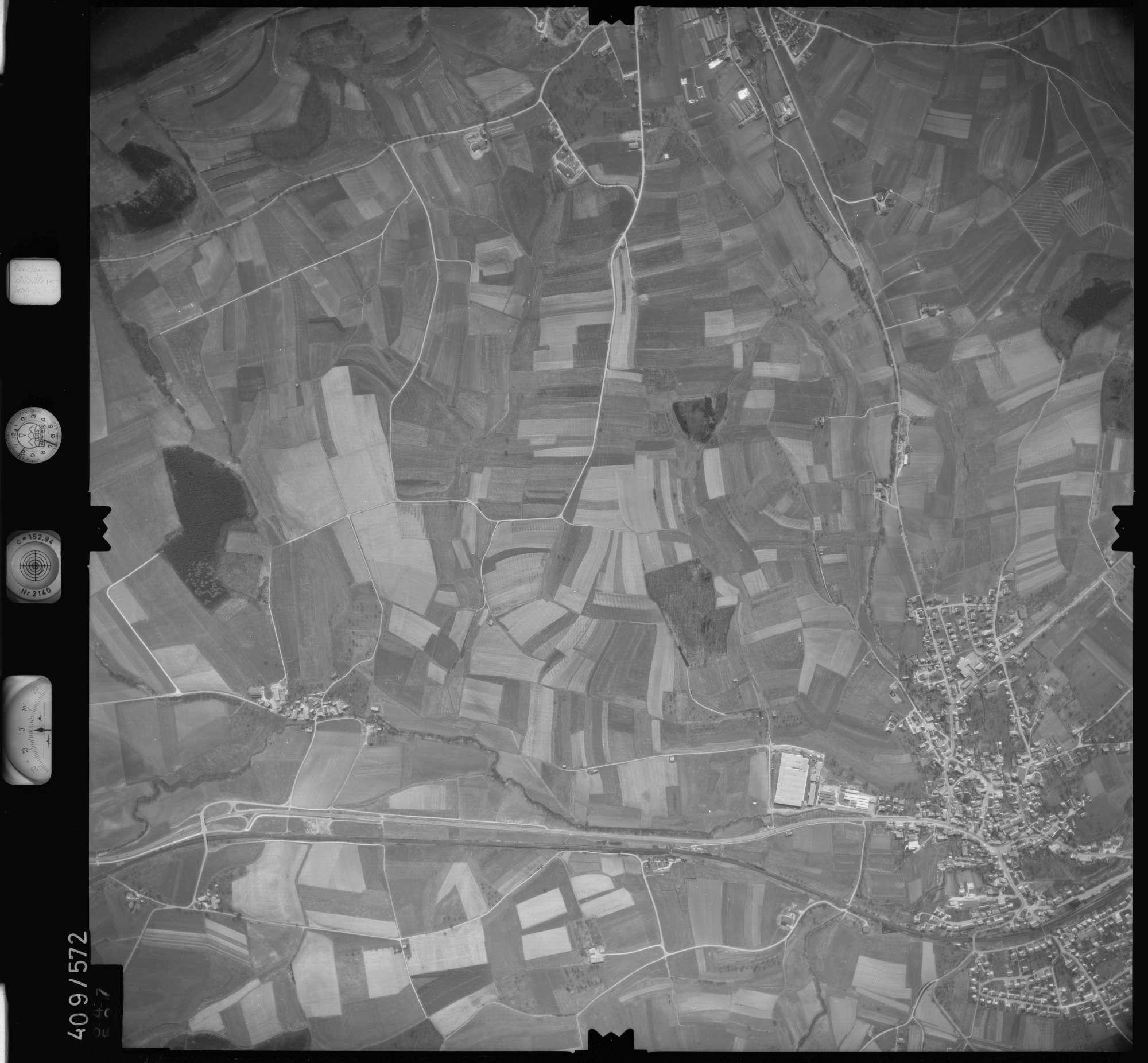 Luftbild: Film 7 Bildnr. 647, Bild 1
