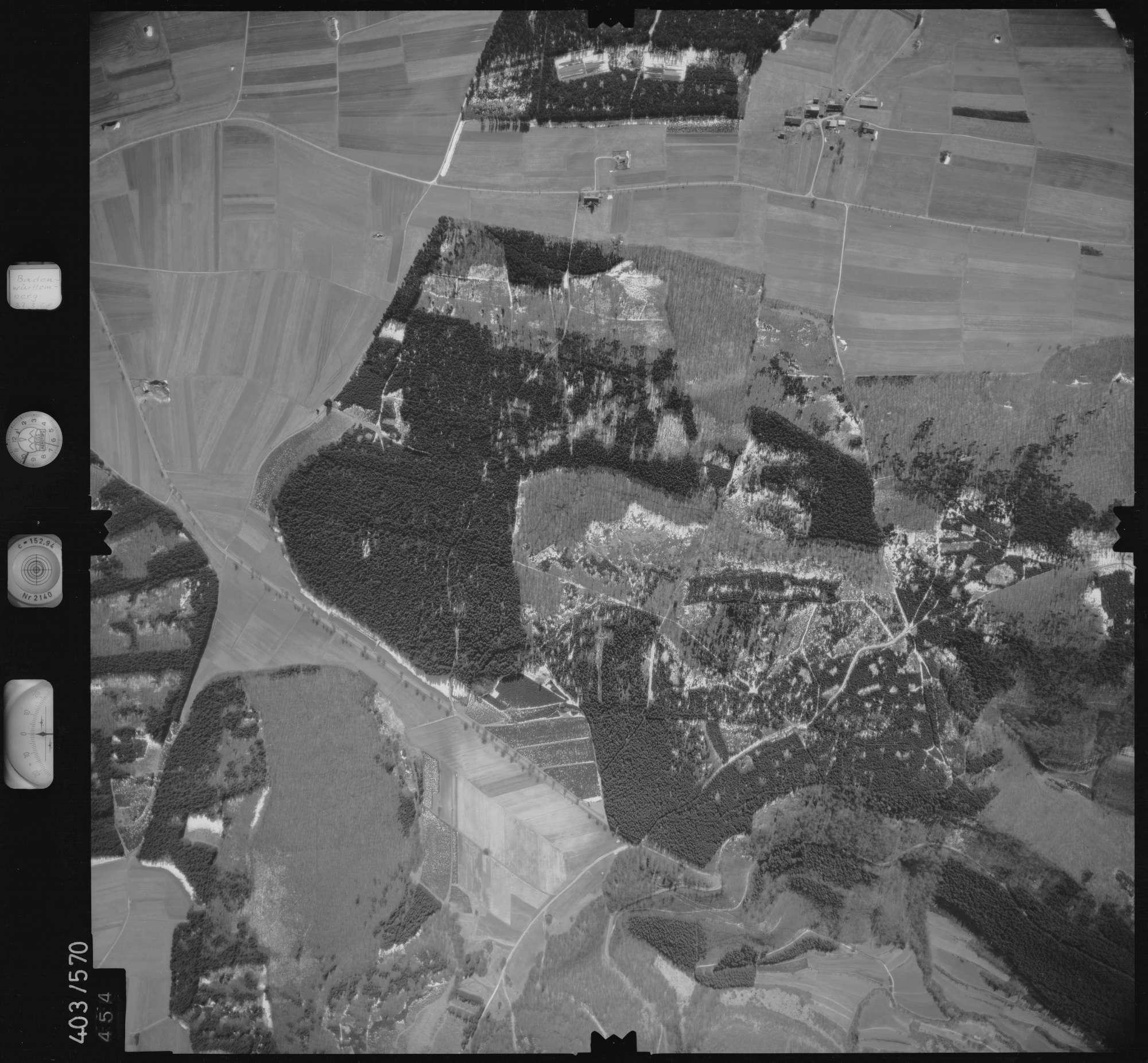 Luftbild: Film 10 Bildnr. 454, Bild 1