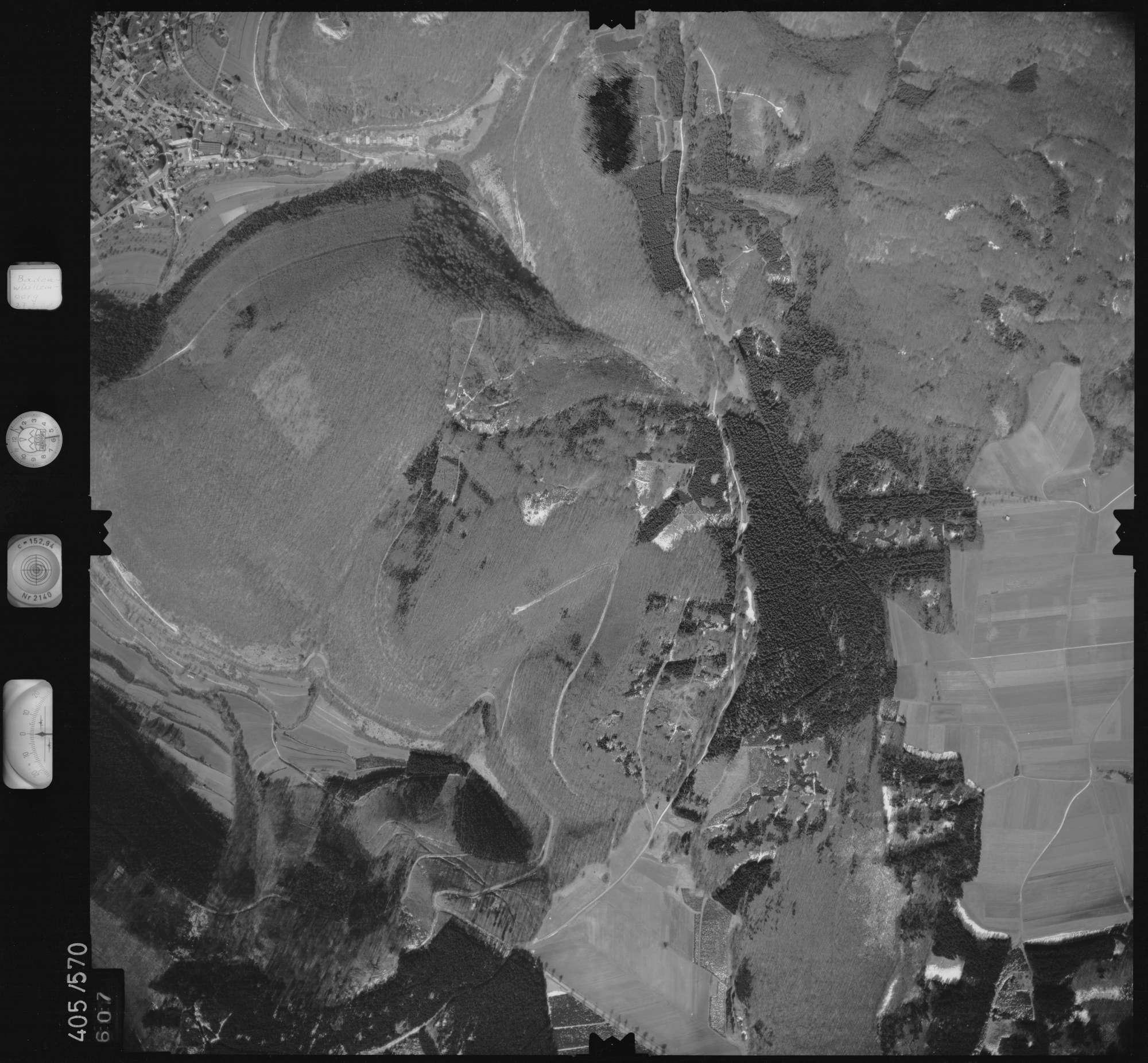 Luftbild: Film 10 Bildnr. 607, Bild 1