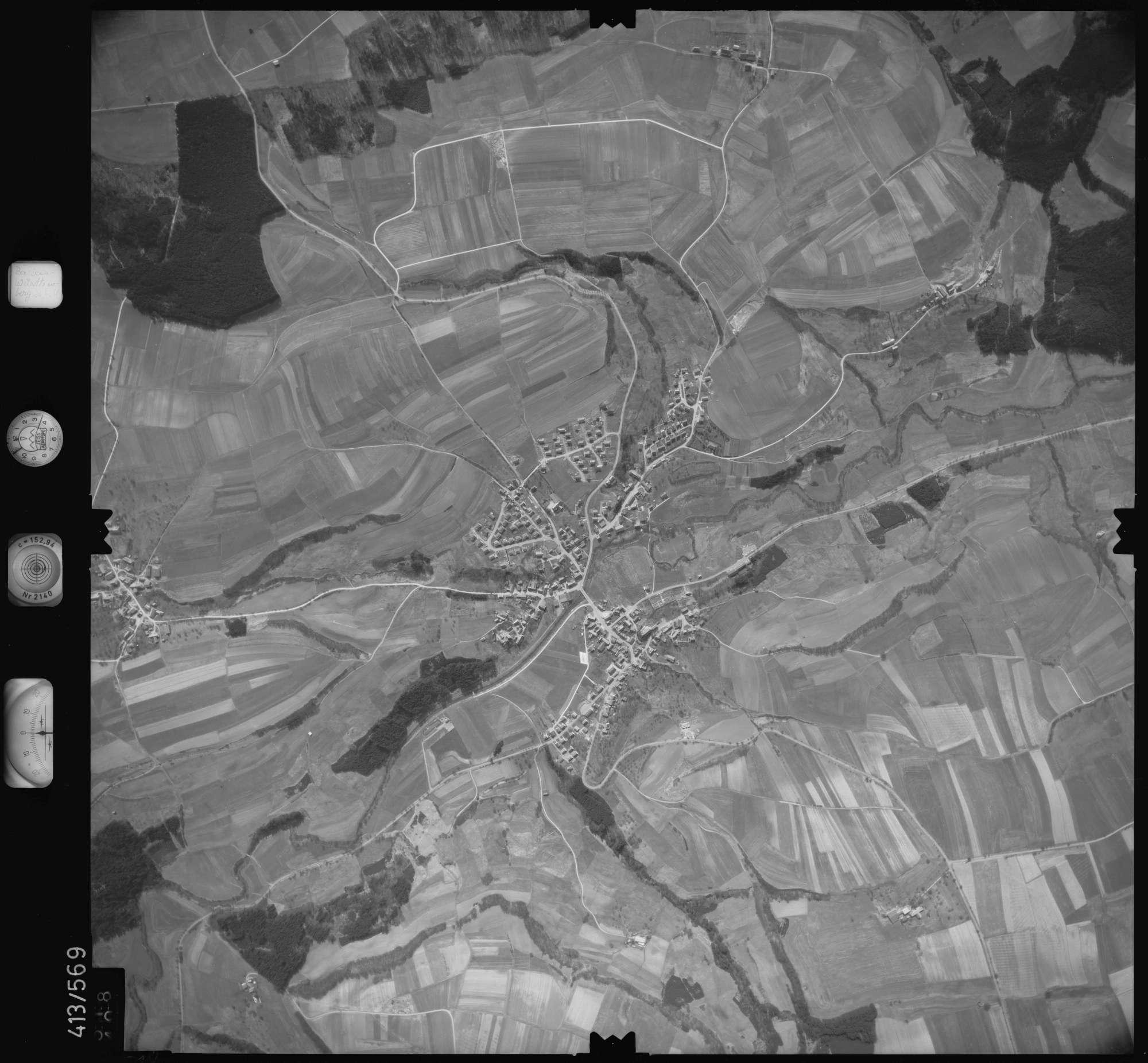 Luftbild: Film 6 Bildnr. 518, Bild 1