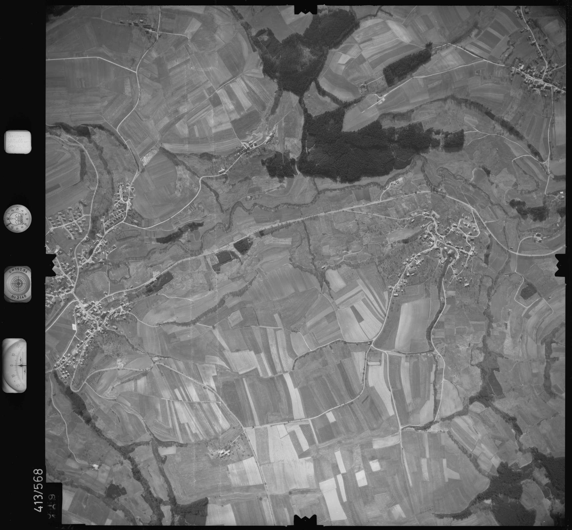 Luftbild: Film 6 Bildnr. 519, Bild 1