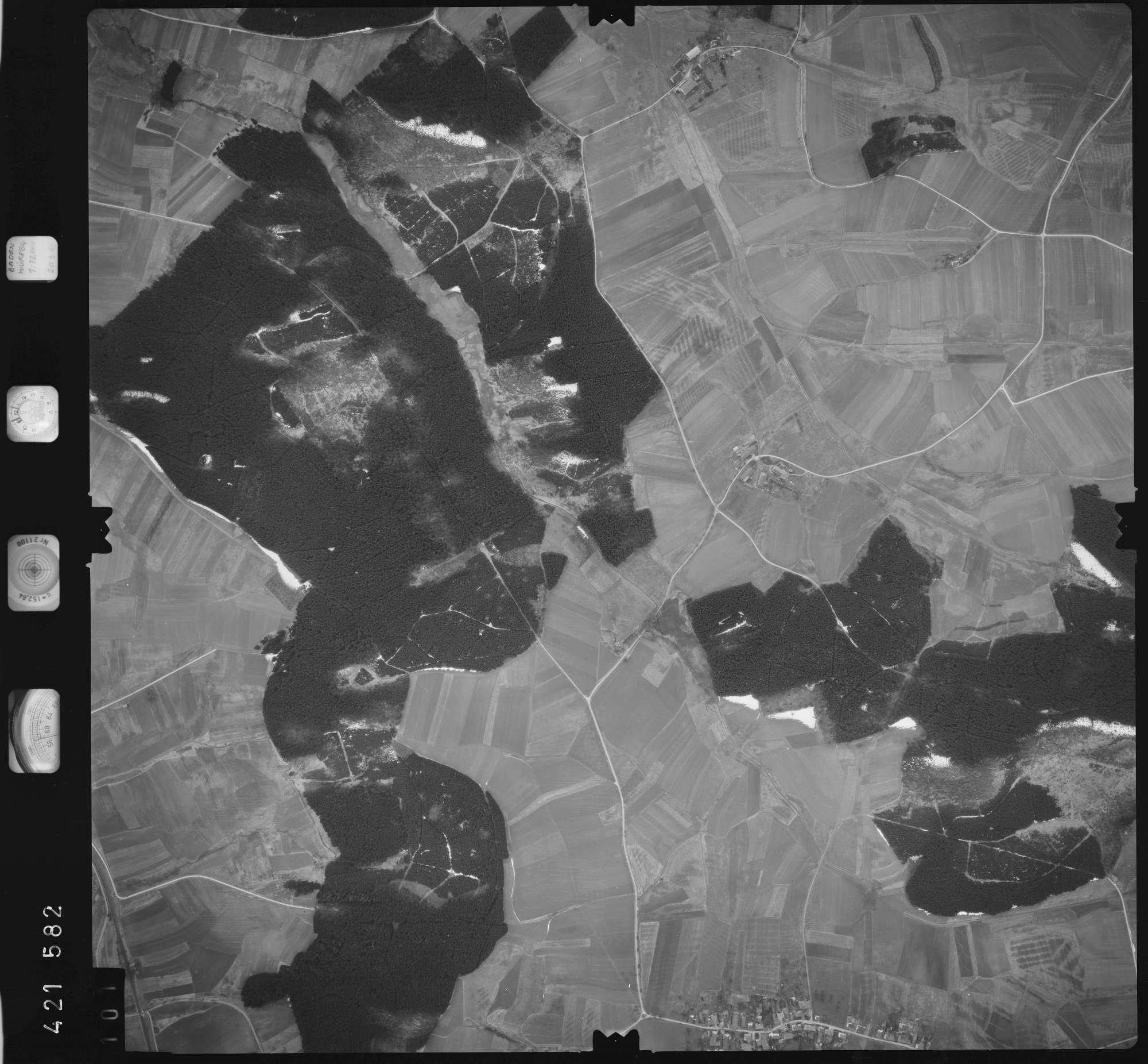 Luftbild: Film 1 Bildnr. 101, Bild 1