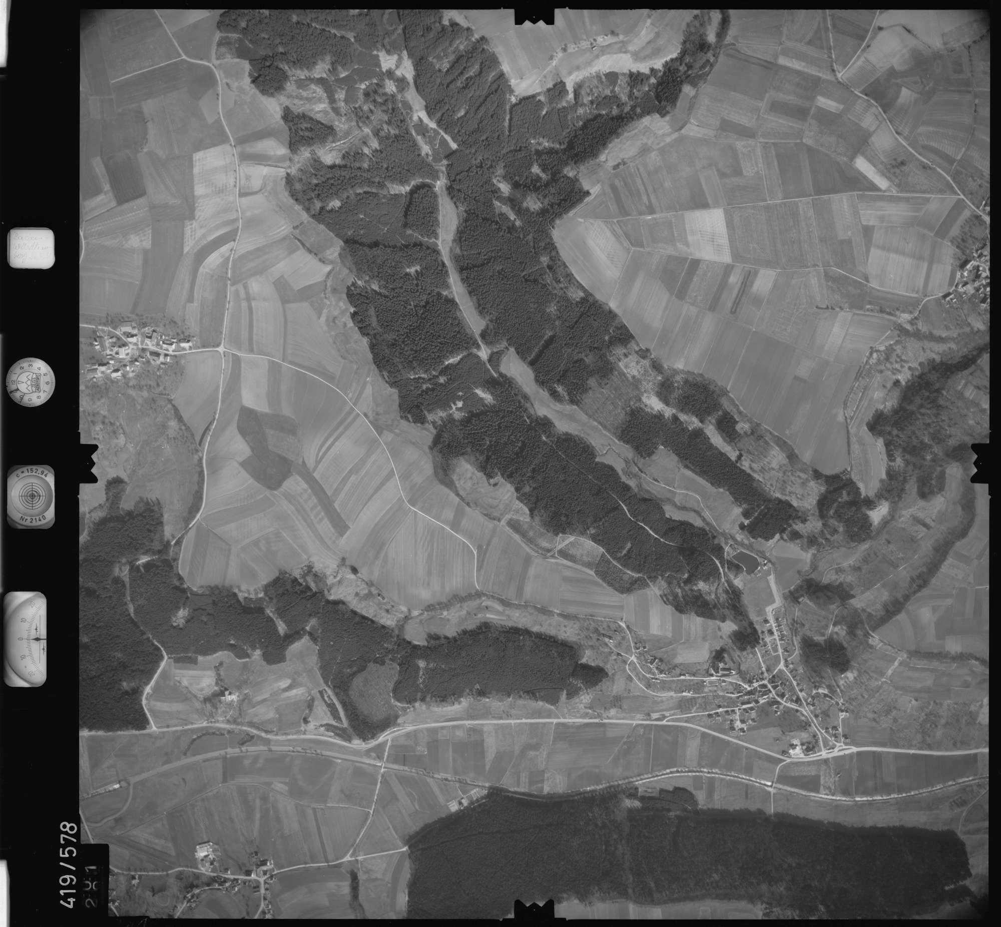 Luftbild: Film 6 Bildnr. 301, Bild 1