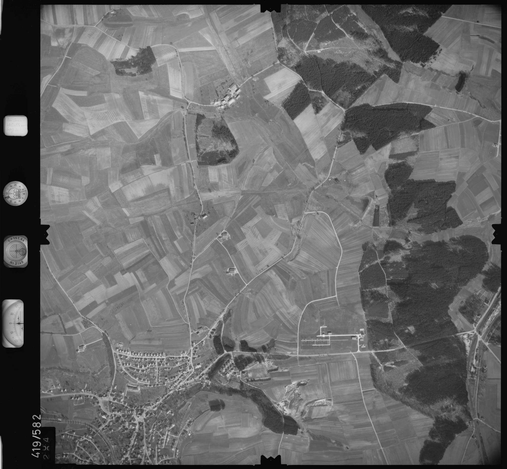 Luftbild: Film 6 Bildnr. 304, Bild 1