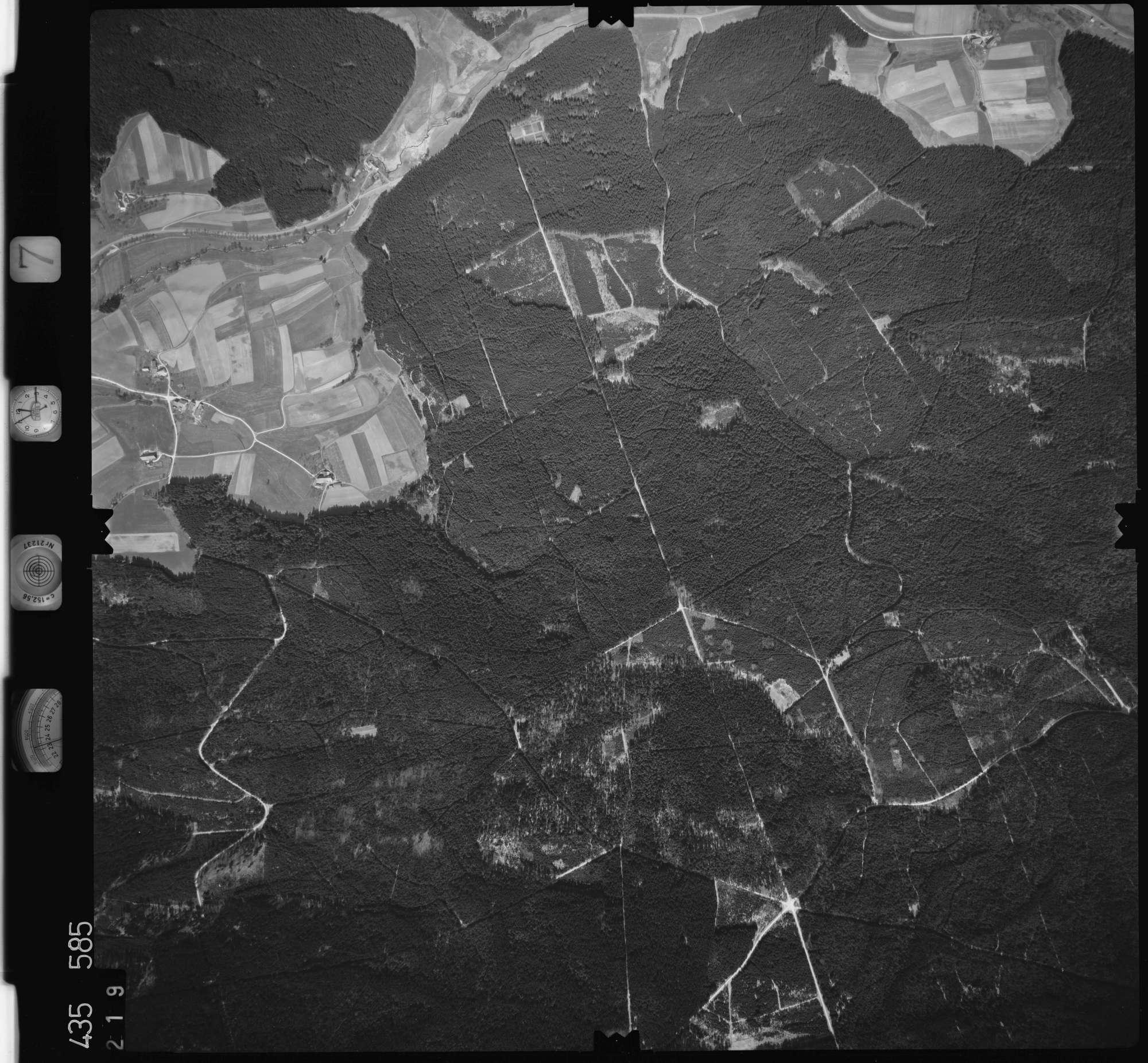 Luftbild: Film 7 Bildnr. 219, Bild 1