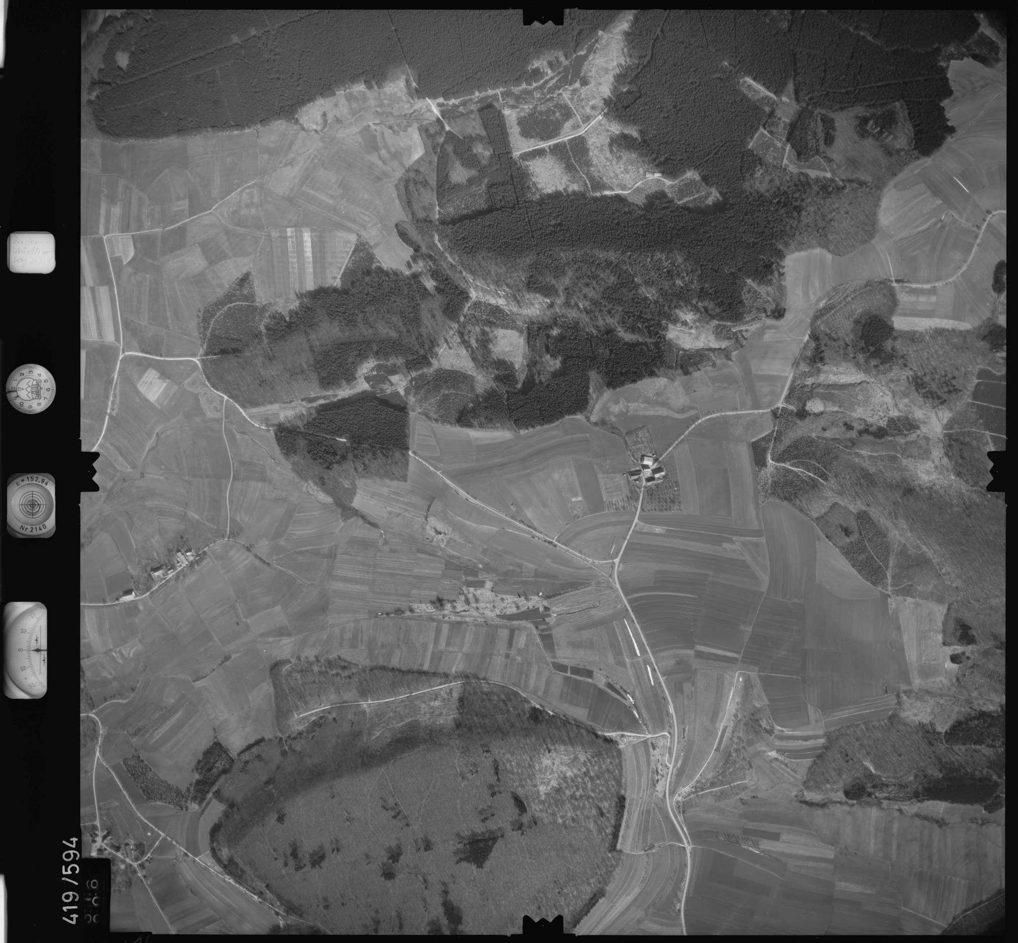 Luftbild: Film 6 Bildnr. 316, Bild 1