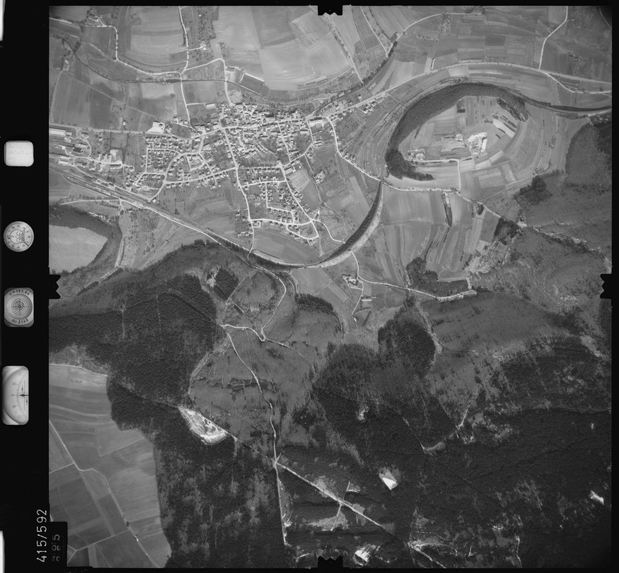 Luftbild: Film 6 Bildnr. 465, Bild 1