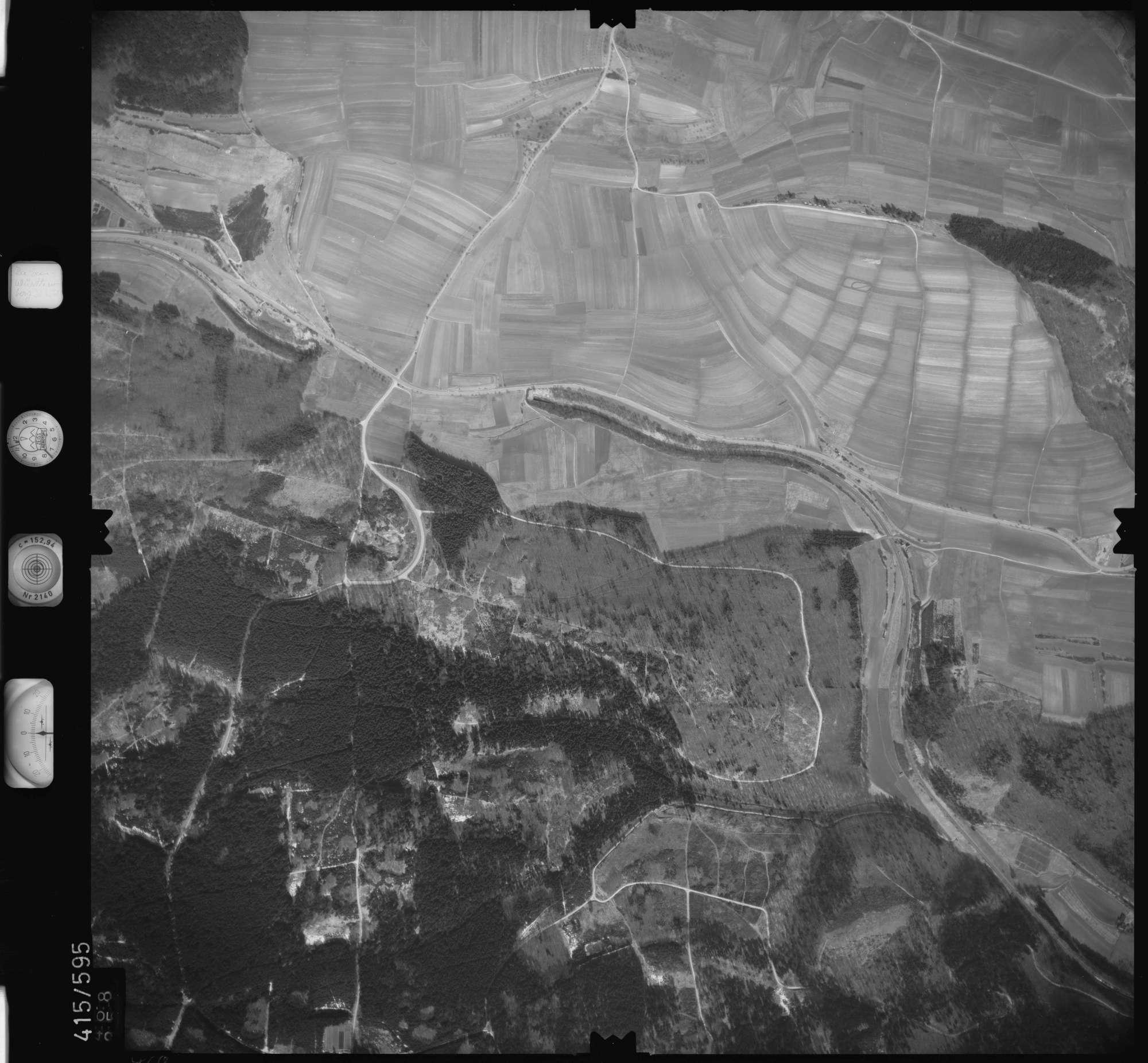 Luftbild: Film 6 Bildnr. 468, Bild 1