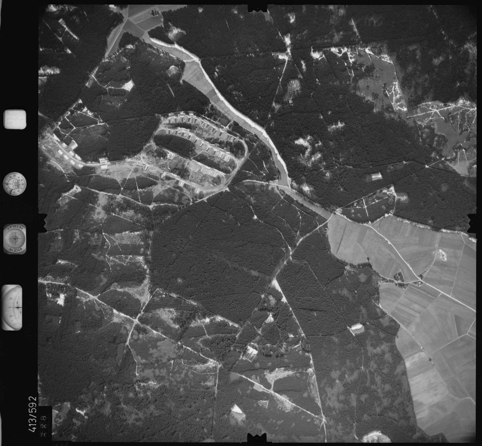 Luftbild: Film 6 Bildnr. 498, Bild 1