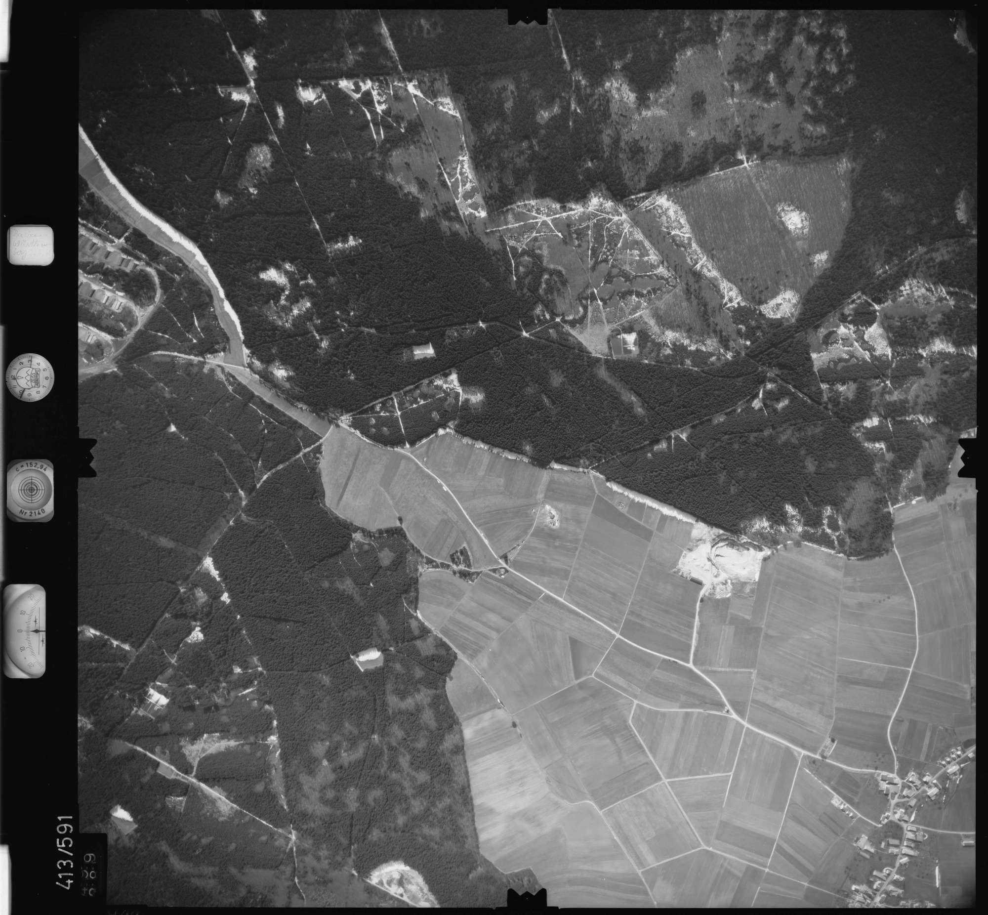 Luftbild: Film 6 Bildnr. 499, Bild 1
