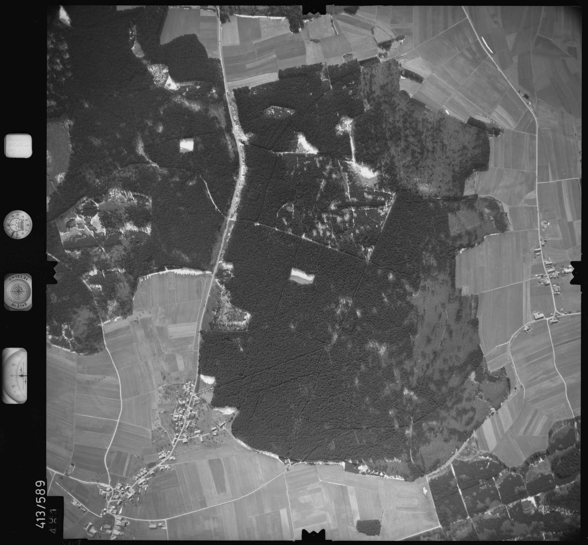 Luftbild: Film 6 Bildnr. 501, Bild 1