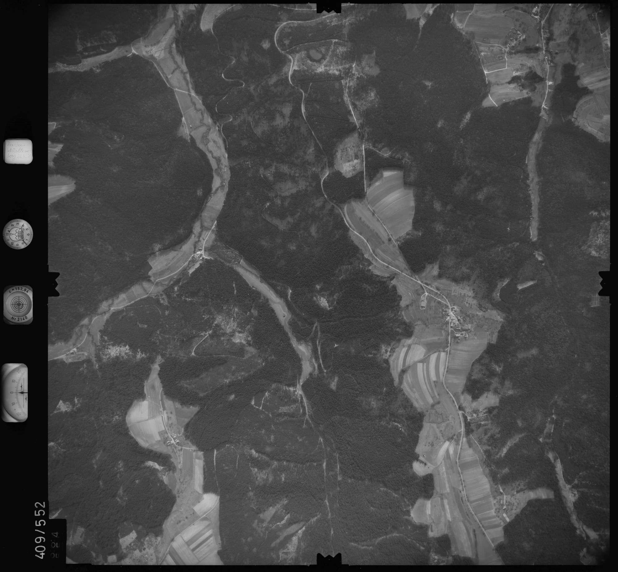 Luftbild: Film 7 Bildnr. 664, Bild 1