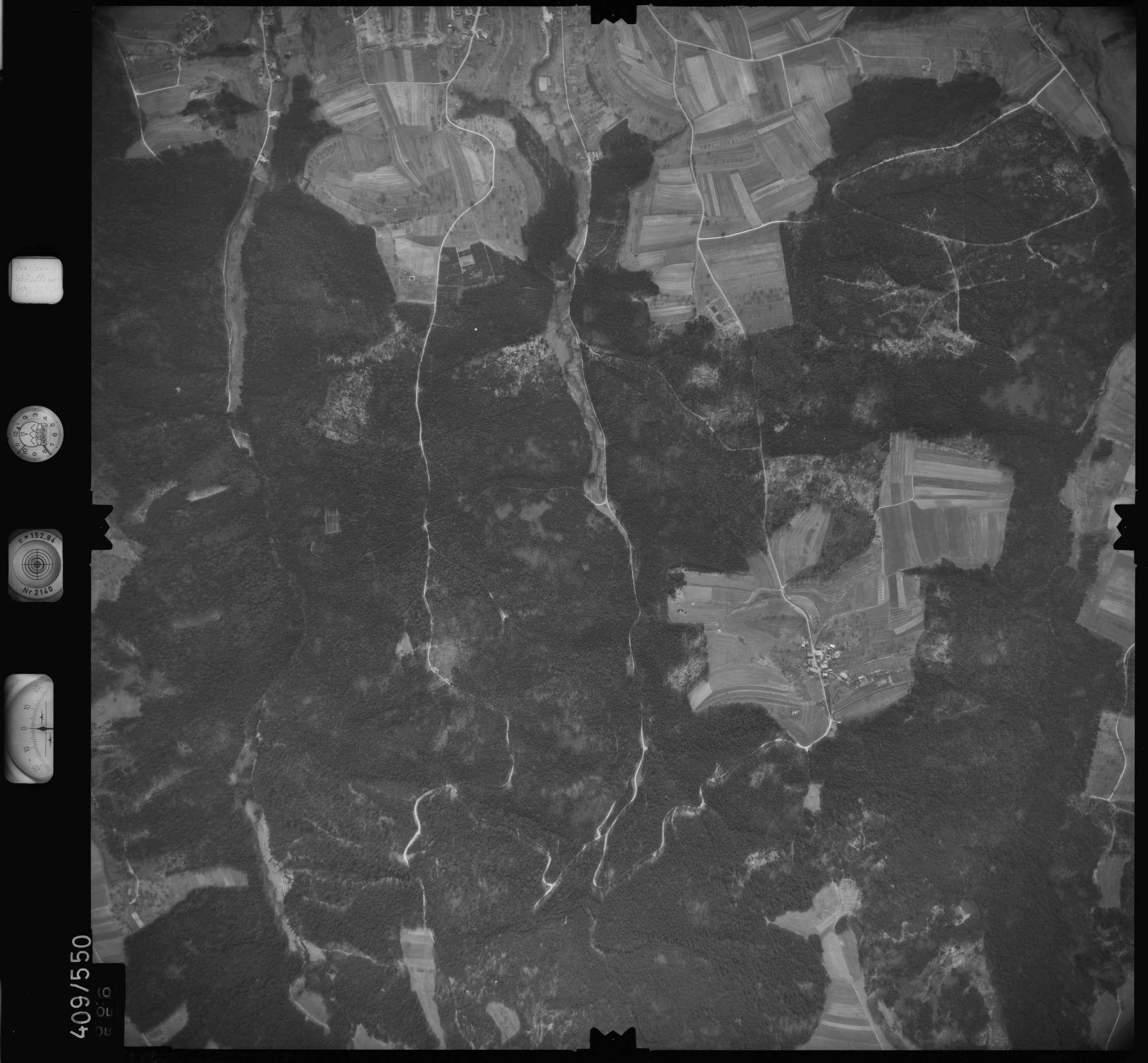 Luftbild: Film 7 Bildnr. 666, Bild 1