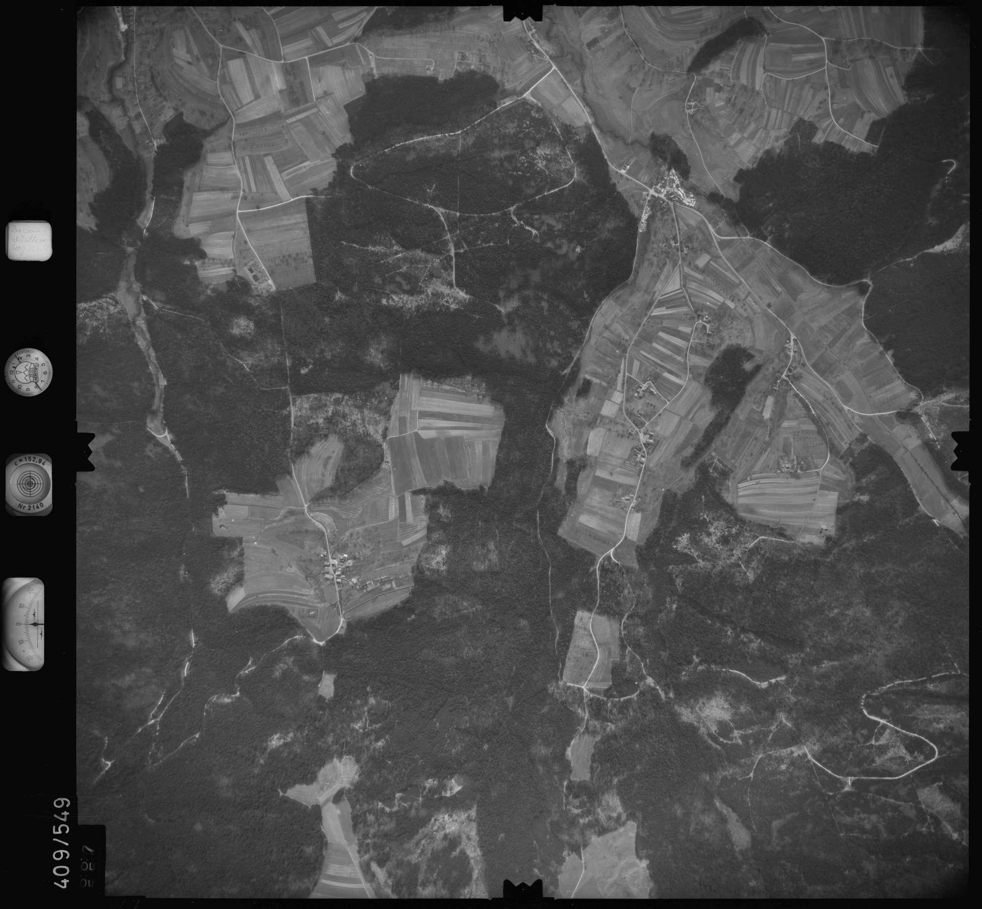 Luftbild: Film 7 Bildnr. 667, Bild 1