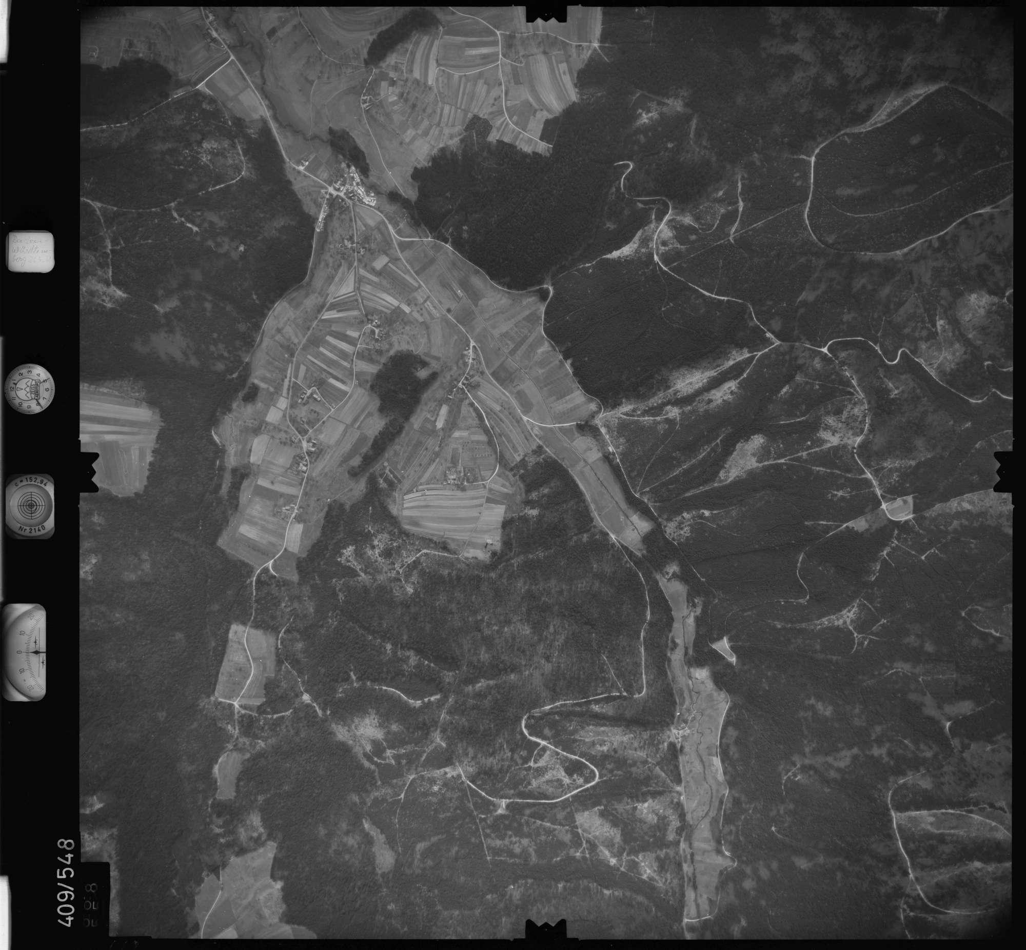 Luftbild: Film 7 Bildnr. 668, Bild 1