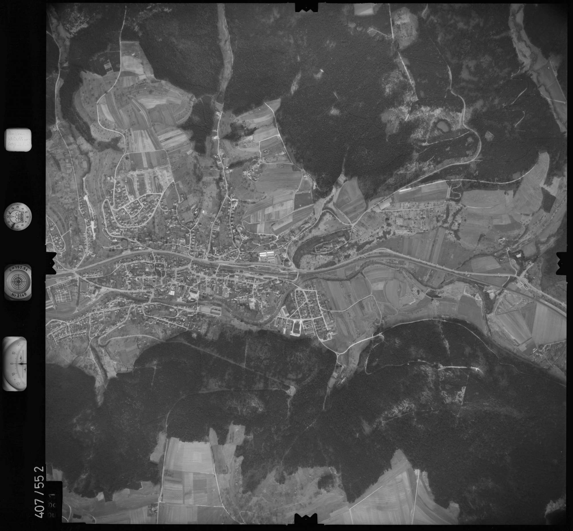Luftbild: Film 7 Bildnr. 691, Bild 1