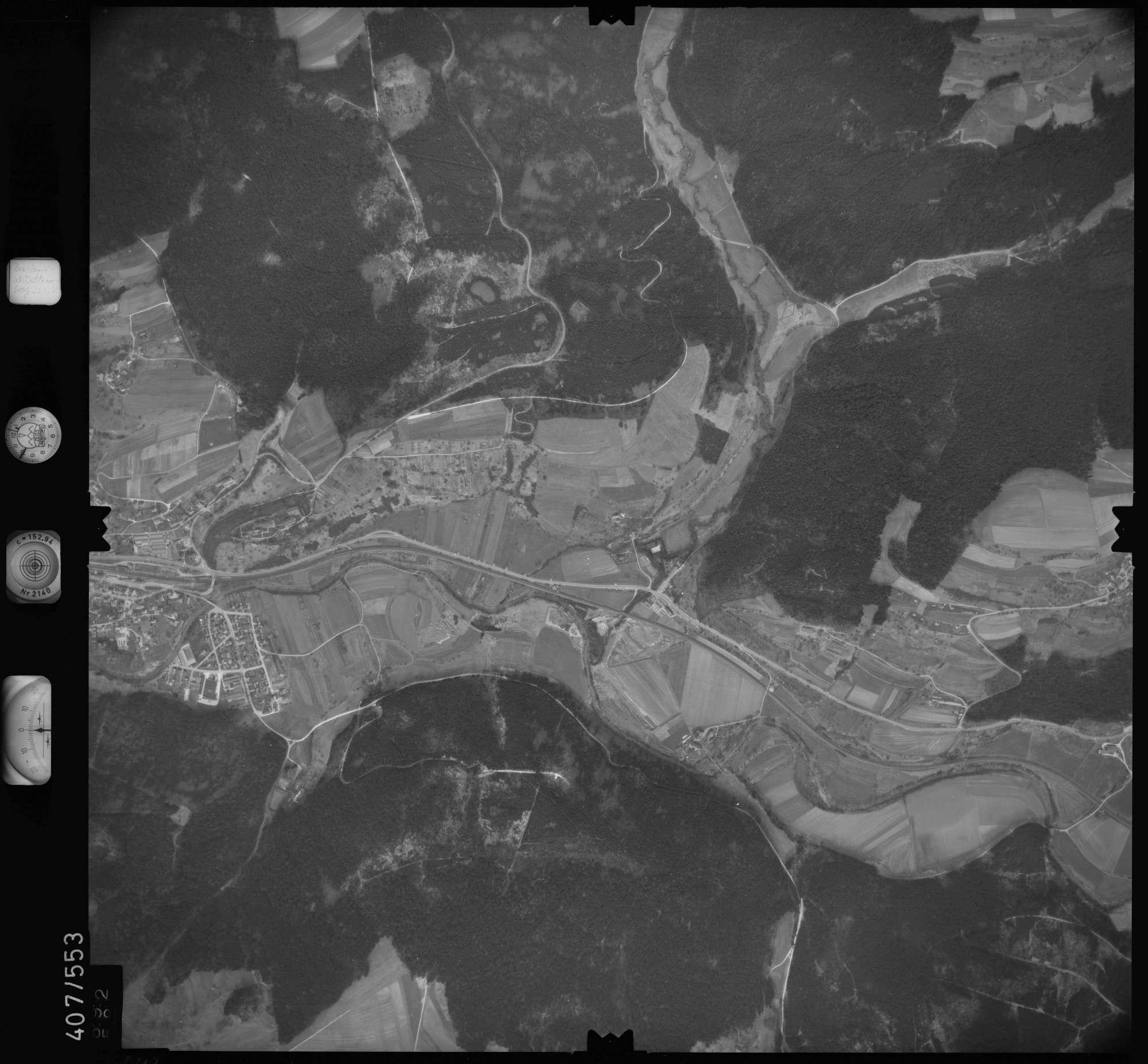 Luftbild: Film 7 Bildnr. 692, Bild 1