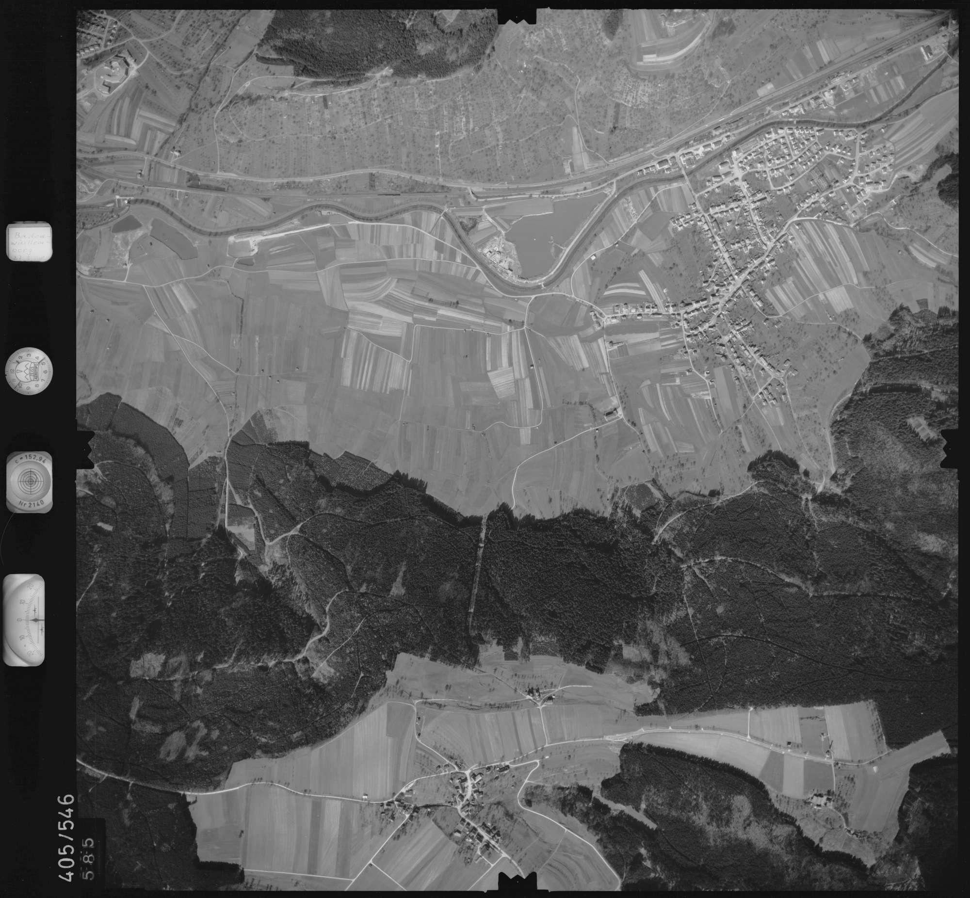 Luftbild: Film 10 Bildnr. 585, Bild 1