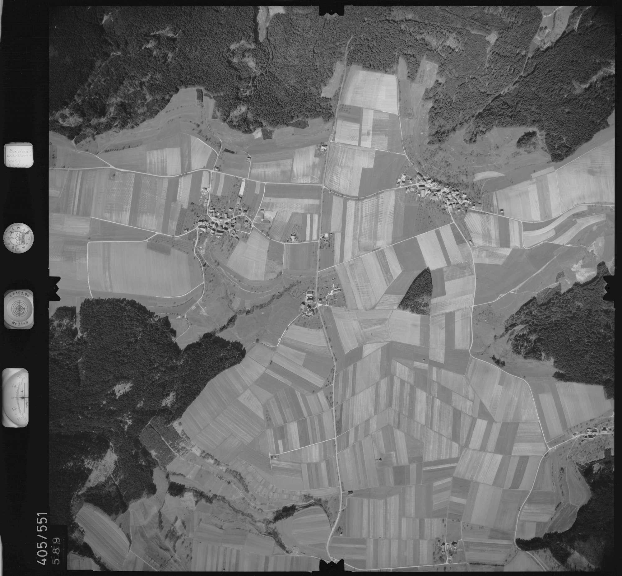 Luftbild: Film 10 Bildnr. 589, Bild 1